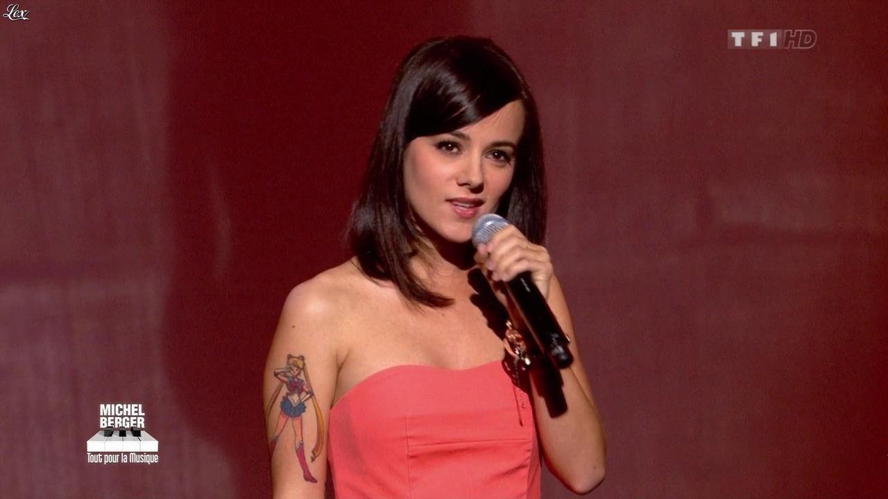 Alizée dans Michel Berger Tout pour la Musique. Diffusé à la télévision le 08/06/12.