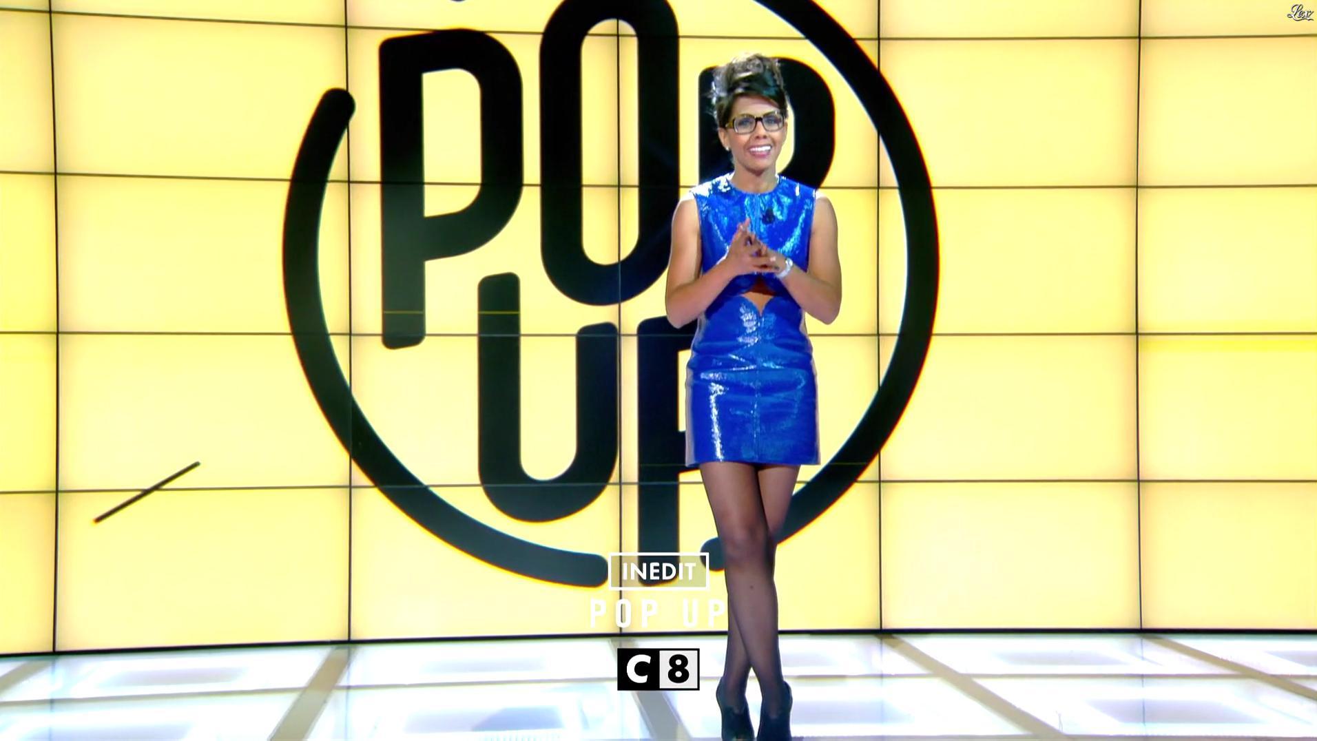Audrey Pulvar dans une Bande-Annonce de Popup. Diffusé à la télévision le 15/10/16.
