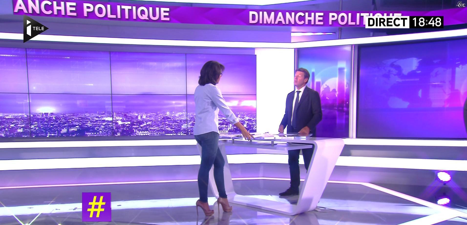 Audrey Pulvar dans Dimanche Politique. Diffusé à la télévision le 04/09/16.