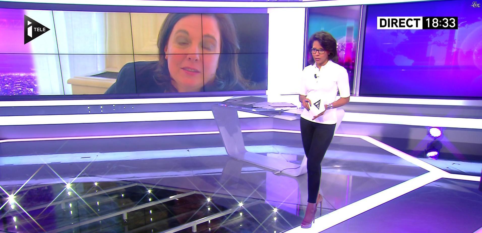 Audrey Pulvar dans Dimanche Politique. Diffusé à la télévision le 25/09/16.