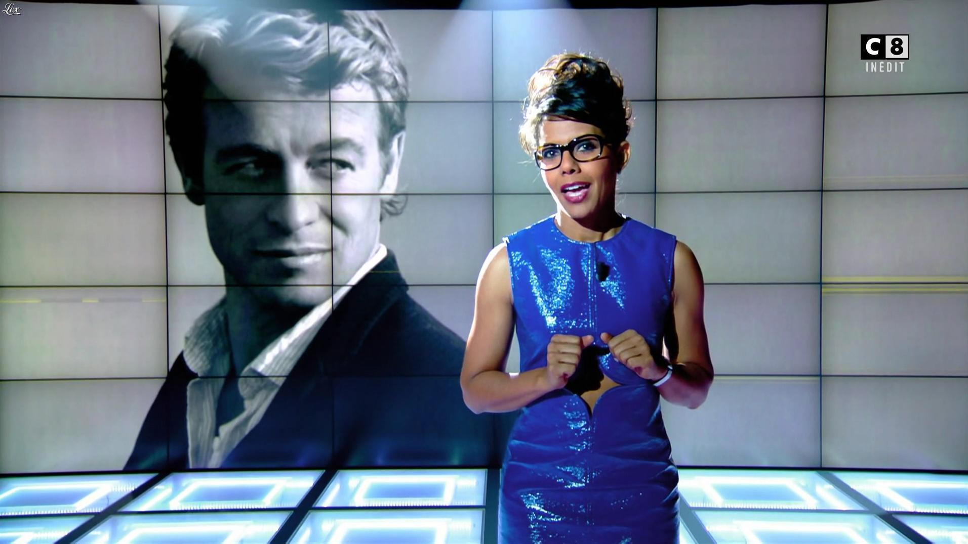 Audrey Pulvar dans Popup. Diffusé à la télévision le 15/10/16.