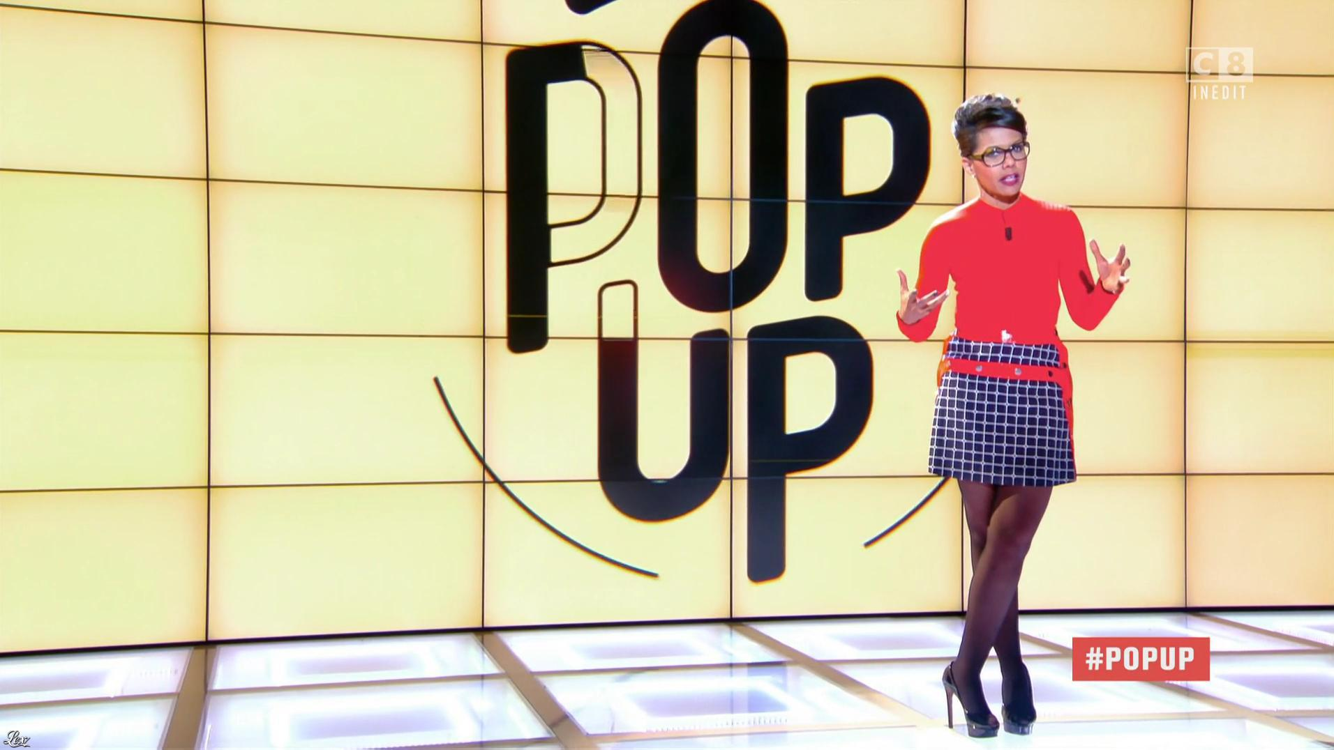Audrey Pulvar dans Popup. Diffusé à la télévision le 22/10/16.