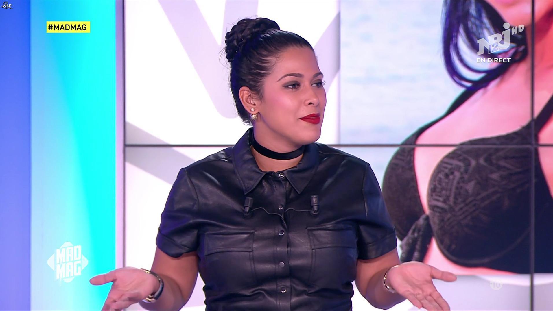 Ayem Nour dans le Mad Mag. Diffusé à la télévision le 21/10/16.