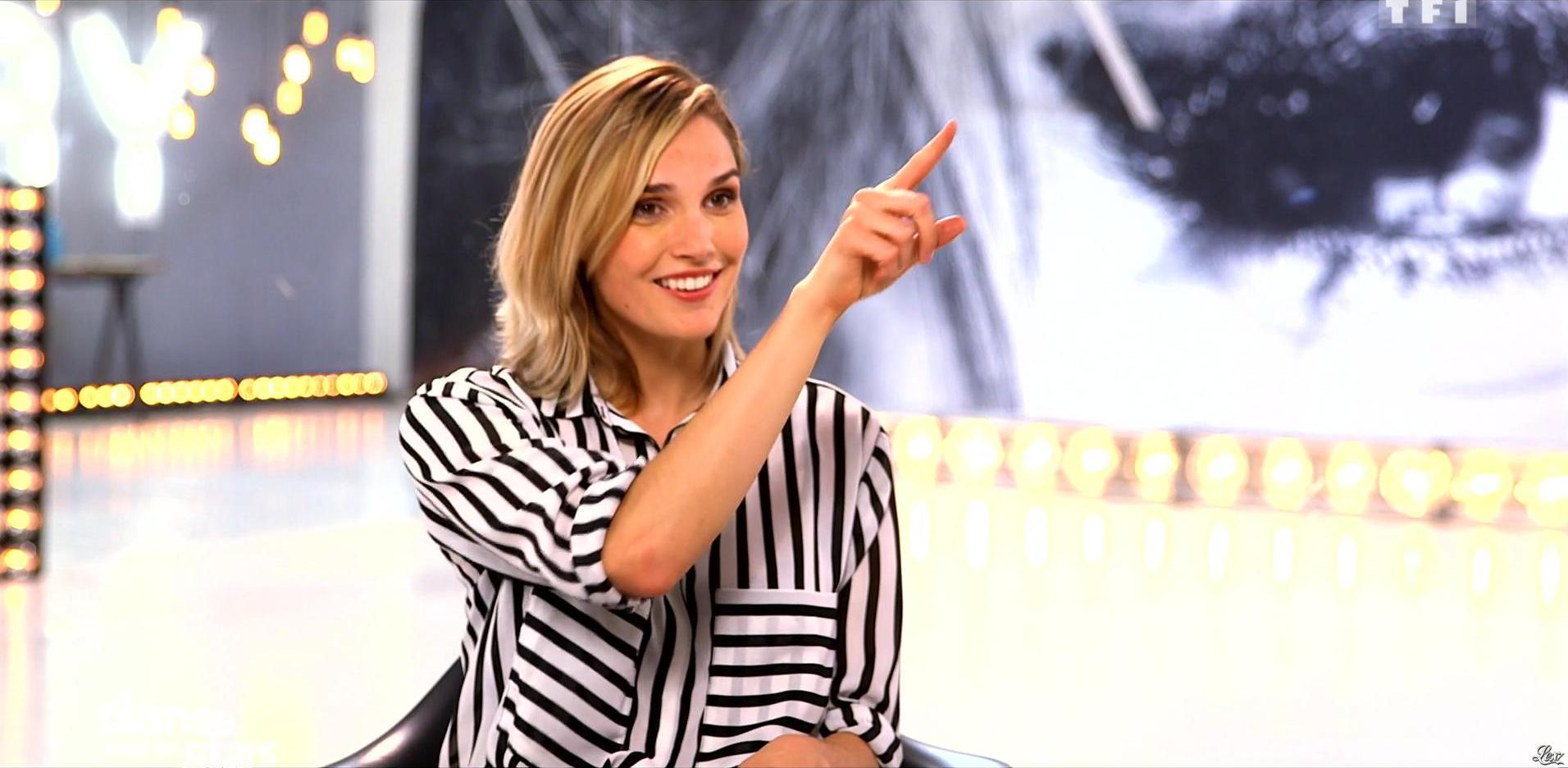 Camille Lou dans Danse avec les Stars. Diffusé à la télévision le 15/10/16.