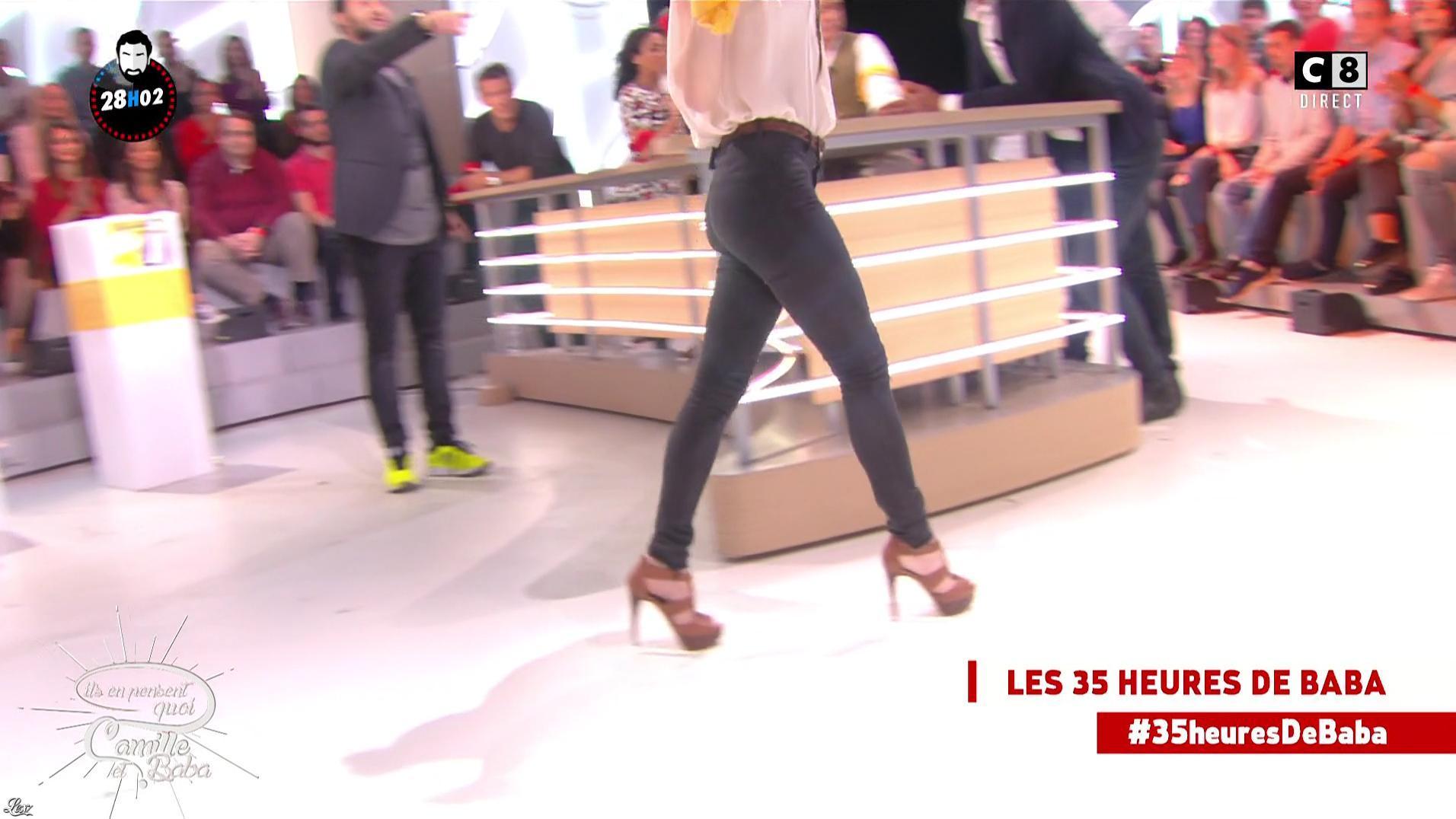 Capucine Anav dans Il en Pense Quoi Camille. Diffusé à la télévision le 14/10/16.