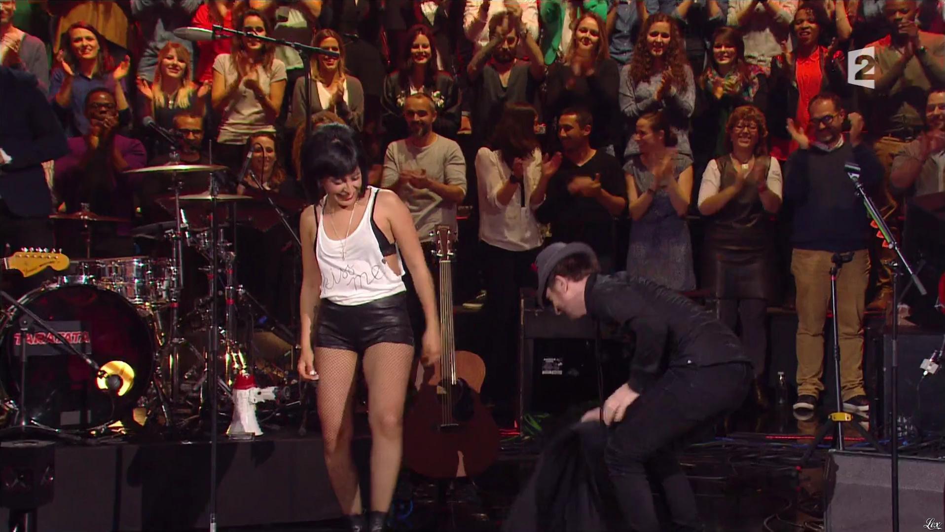 Carmen Maria Vega dans Taratata. Diffusé à la télévision le 30/09/16.