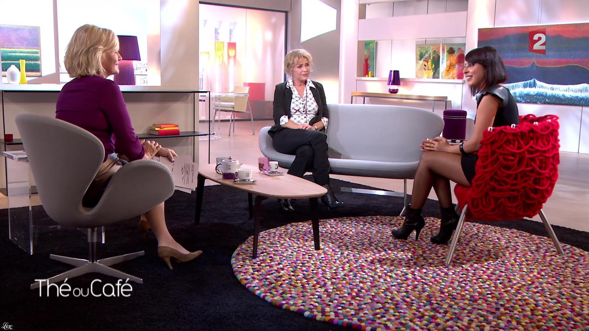 Carmen Maria Vega dans The ou Cafe. Diffusé à la télévision le 22/10/16.