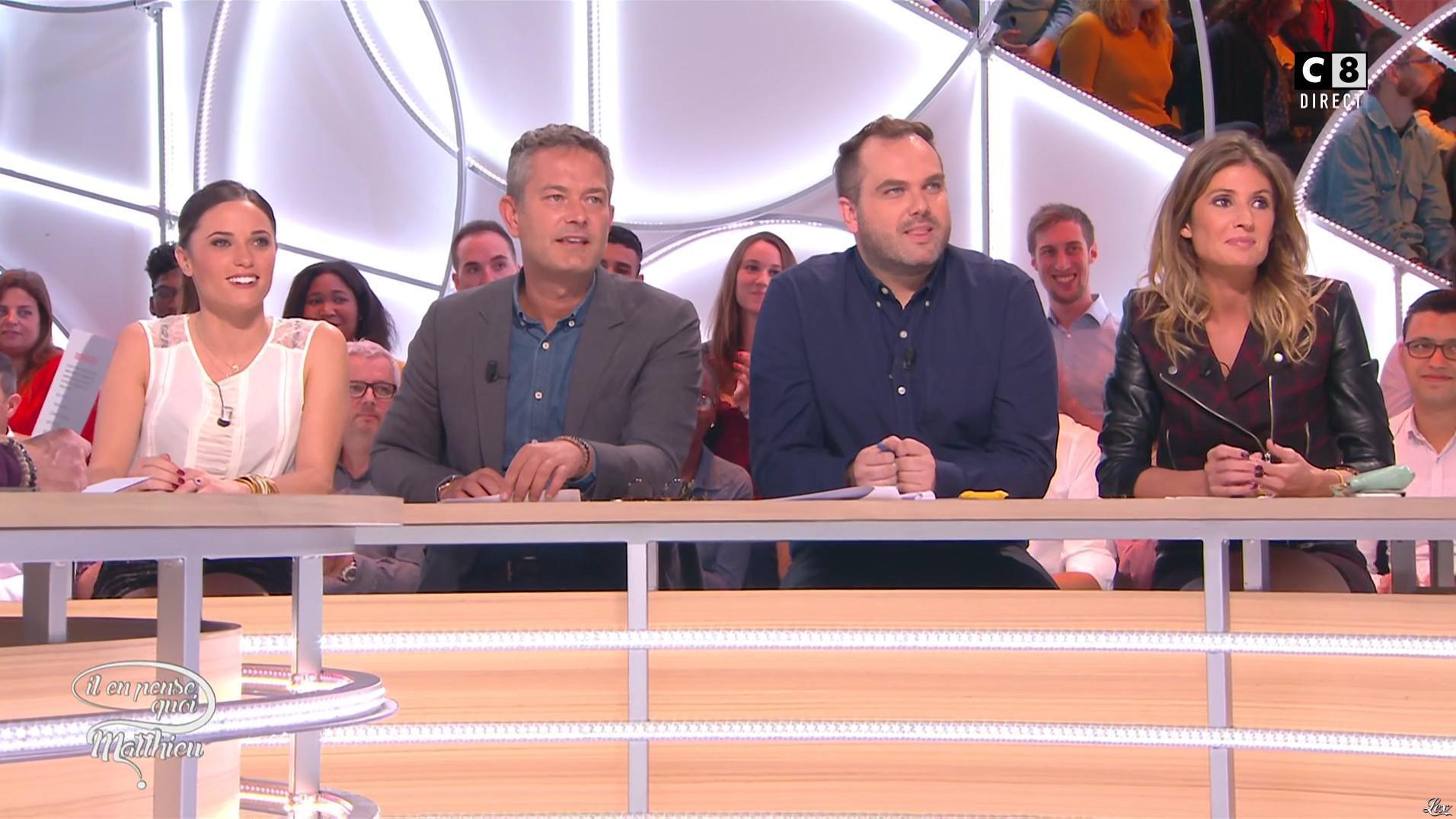 Caroline Ithurbide dans Il en Pense Quoi Camille. Diffusé à la télévision le 07/10/16.