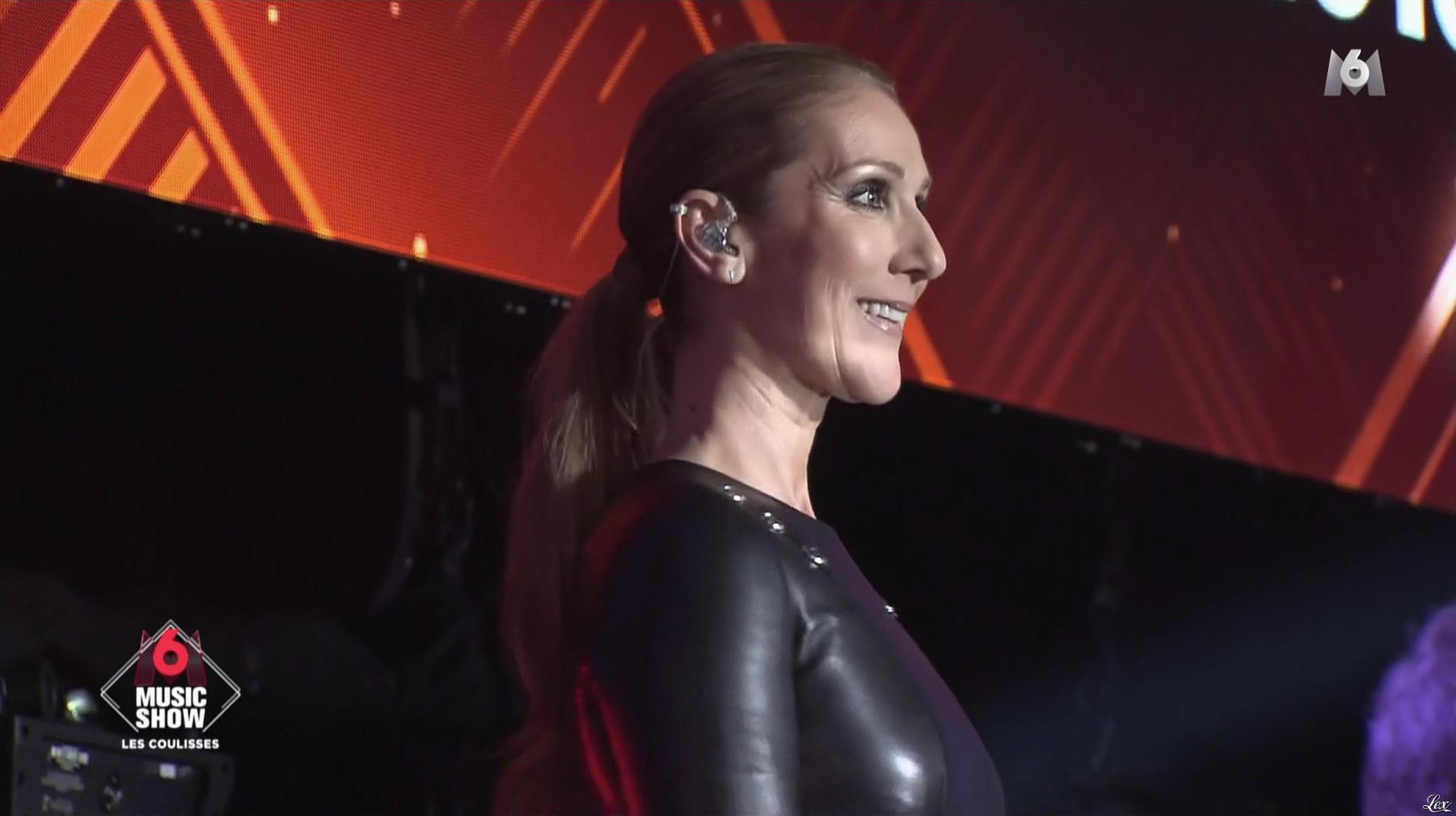 Céline Dion dans les Coulisses du M6 Music Show. Diffusé à la télévision le 07/09/16.