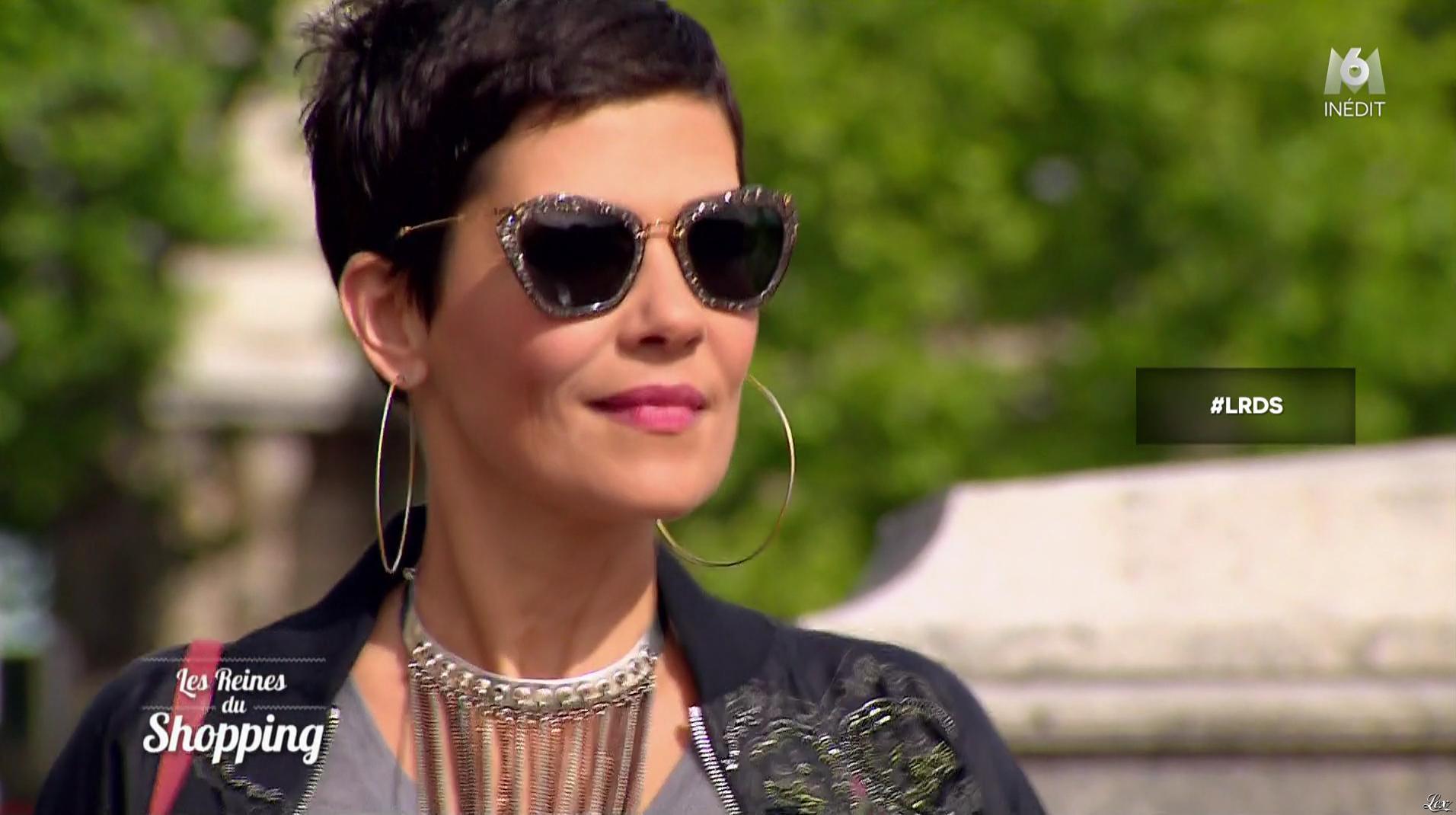 Cristina Cordula dans les Reines du Shopping. Diffusé à la télévision le 17/10/16.