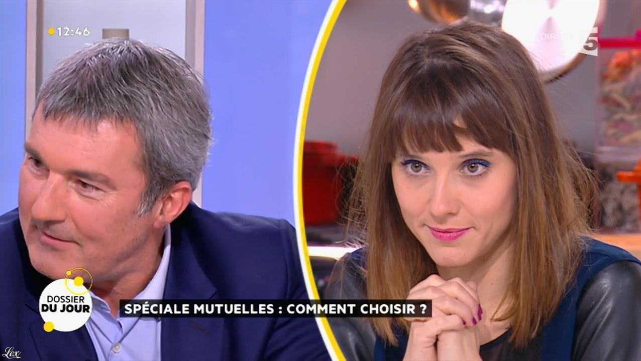 Mélanie Taravant dans la Quotidienne. Diffusé à la télévision le 26/11/15.