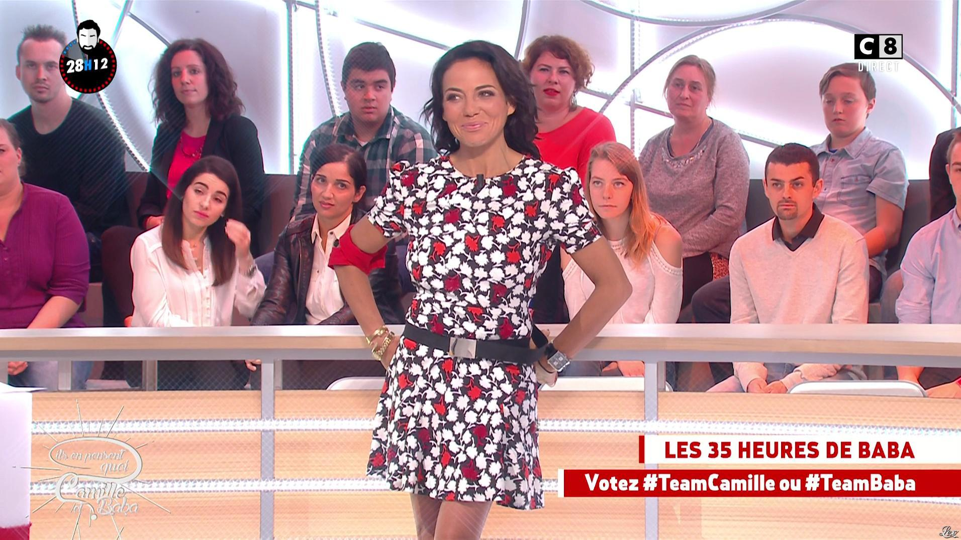 Sandra De Matteis dans Il en Pense Quoi Camille. Diffusé à la télévision le 14/10/16.