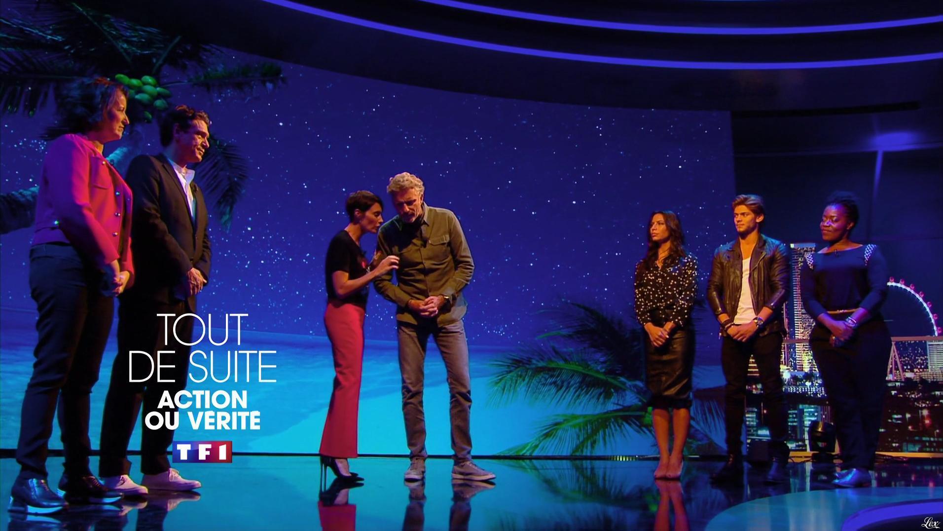 Zaho dans Action ou Verite. Diffusé à la télévision le 14/10/16.