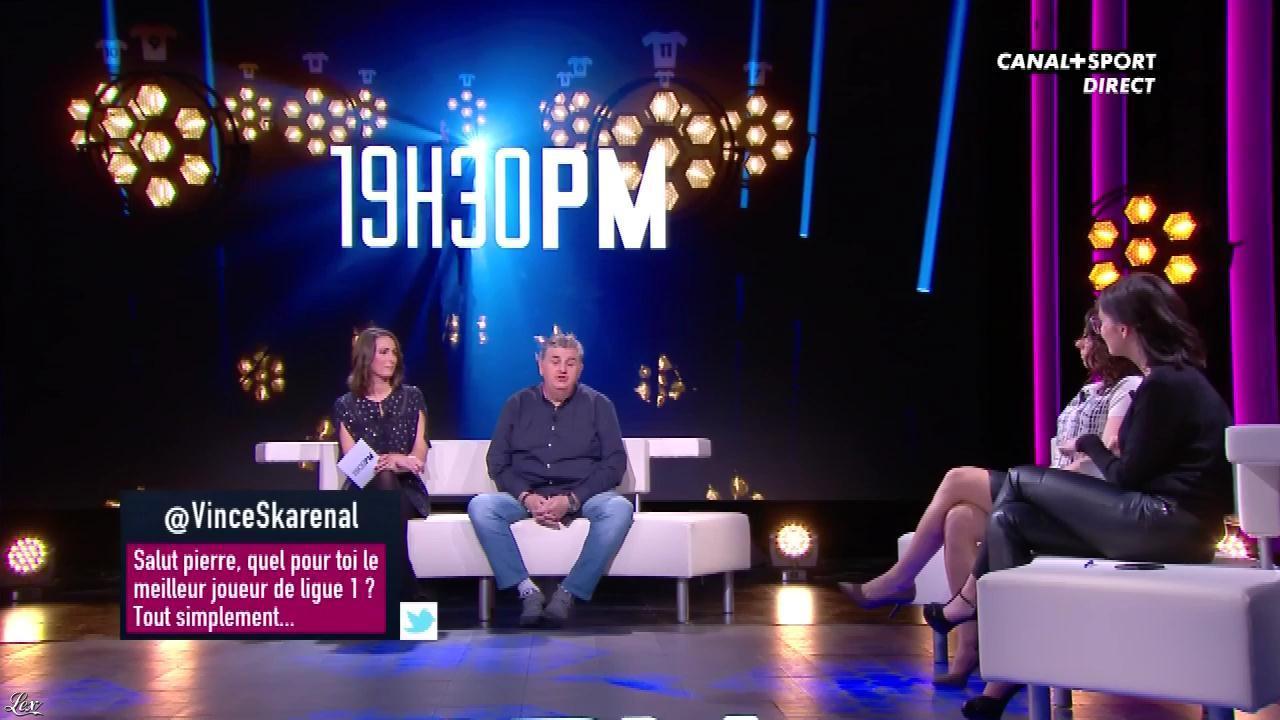 Agathe Auproux dans 19h30 PM. Diffusé à la télévision le 24/11/17.