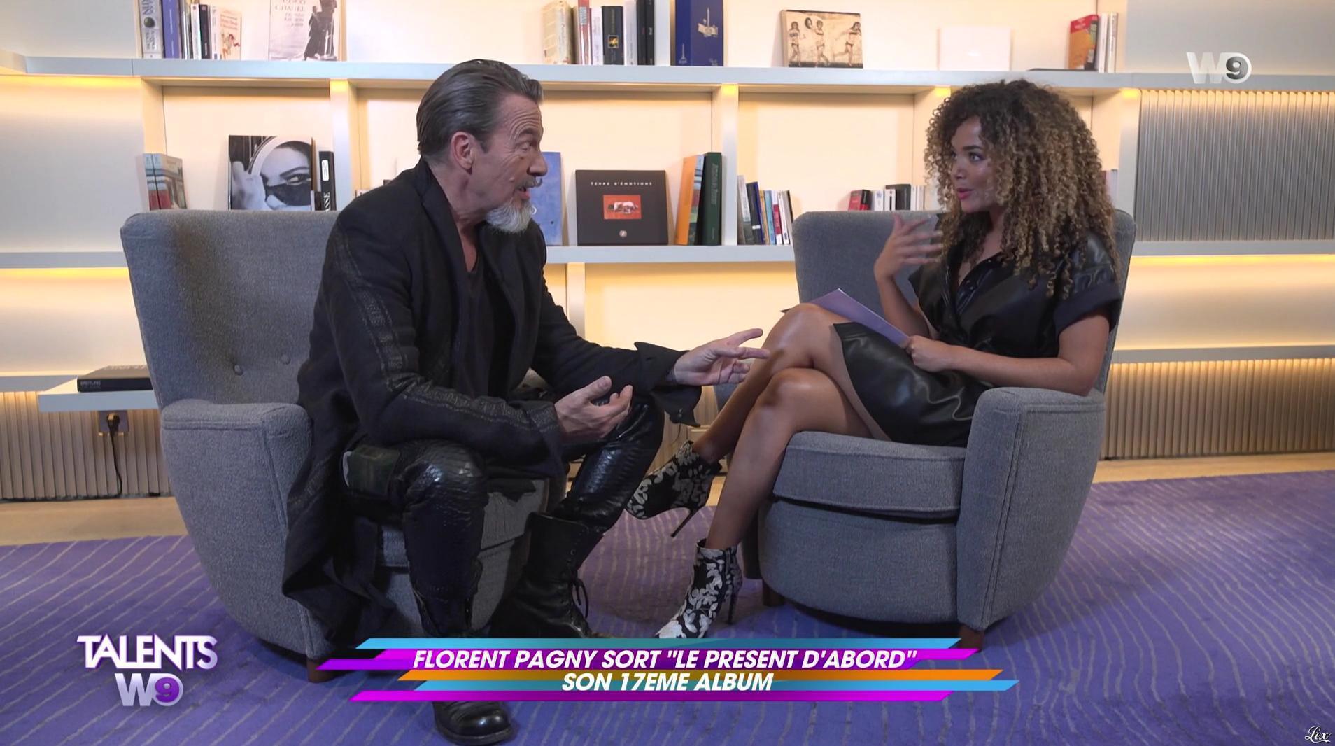 Anaïs Grangerac dans Talents W9. Diffusé à la télévision le 30/09/17.