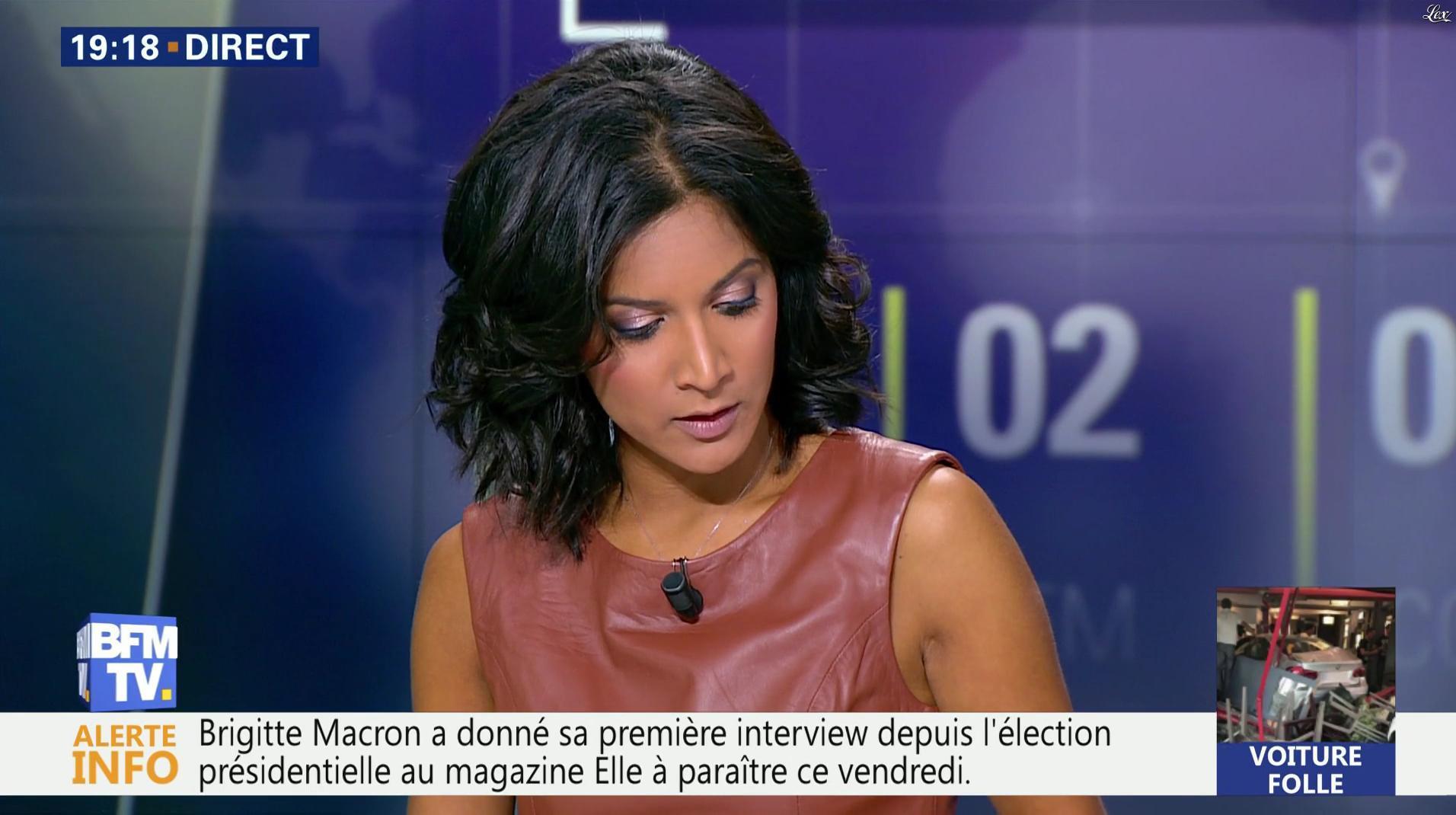 Aurélie Casse dans BFM Soir. Diffusé à la télévision le 16/08/17.