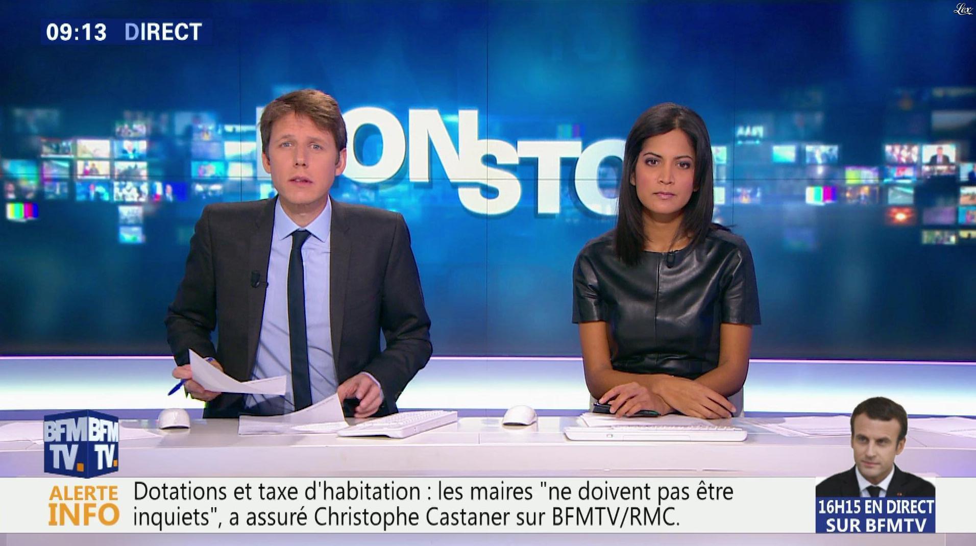 Aurélie Casse dans Non Stop. Diffusé à la télévision le 23/11/17.