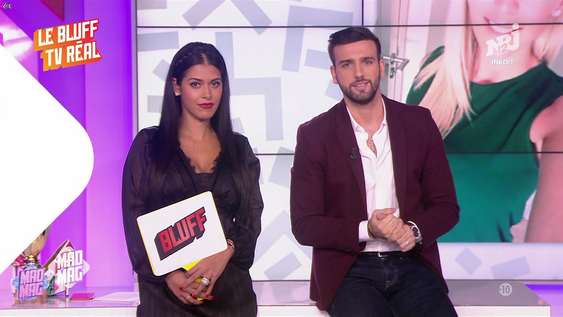 Ayem Nour dans le Mad Mag. Diffusé à la télévision le 25/10/17.