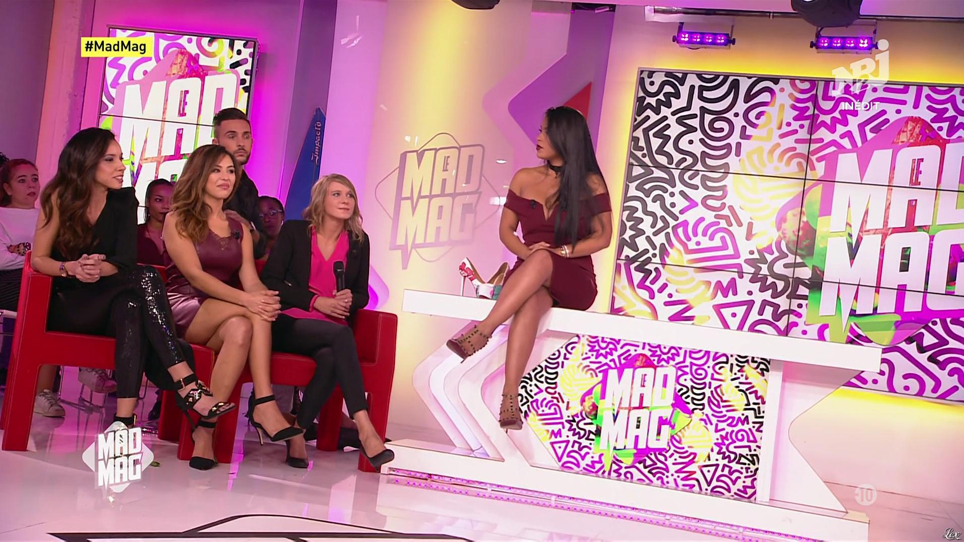 Ayem Nour, Pariss et Yamina dans le Mad Mag. Diffusé à la télévision le 18/09/17.