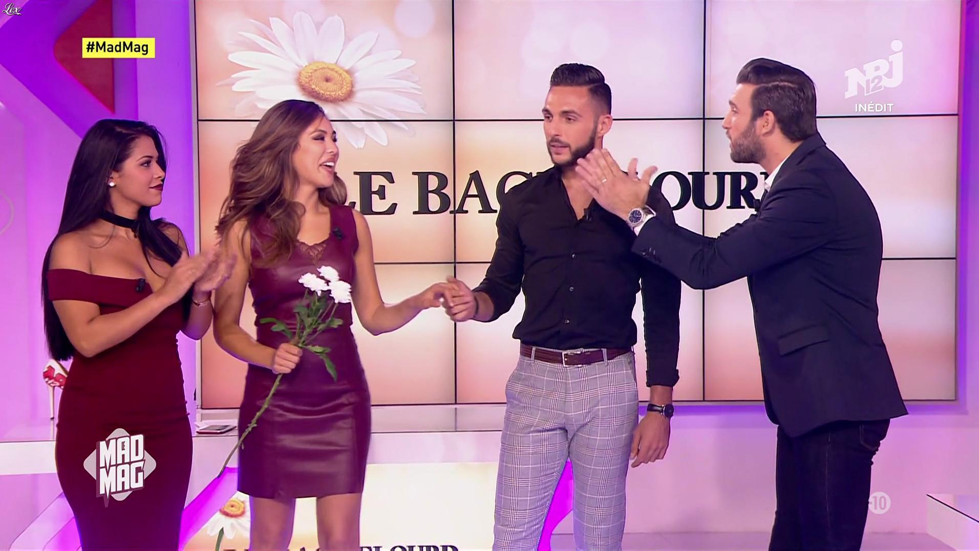 Ayem Nour et Yamina dans le Mad Mag. Diffusé à la télévision le 18/09/17.