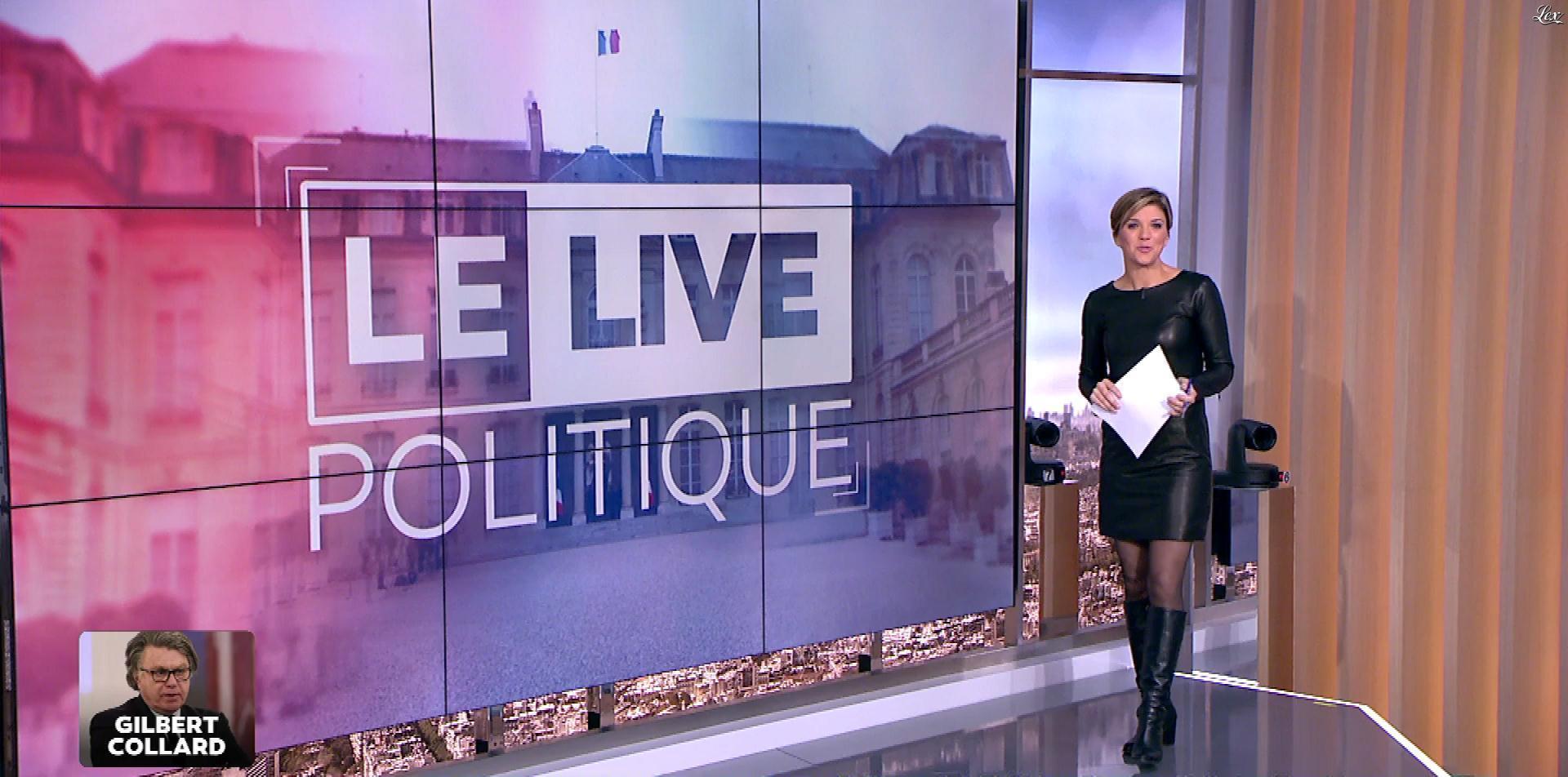 Benedicte Le Chatelier dans le Live Politique. Diffusé à la télévision le 26/11/17.