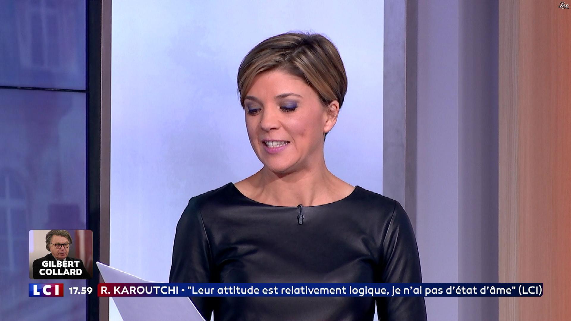Bénédicte Le Chatelier dans le Live Politique. Diffusé à la télévision le 26/11/17.