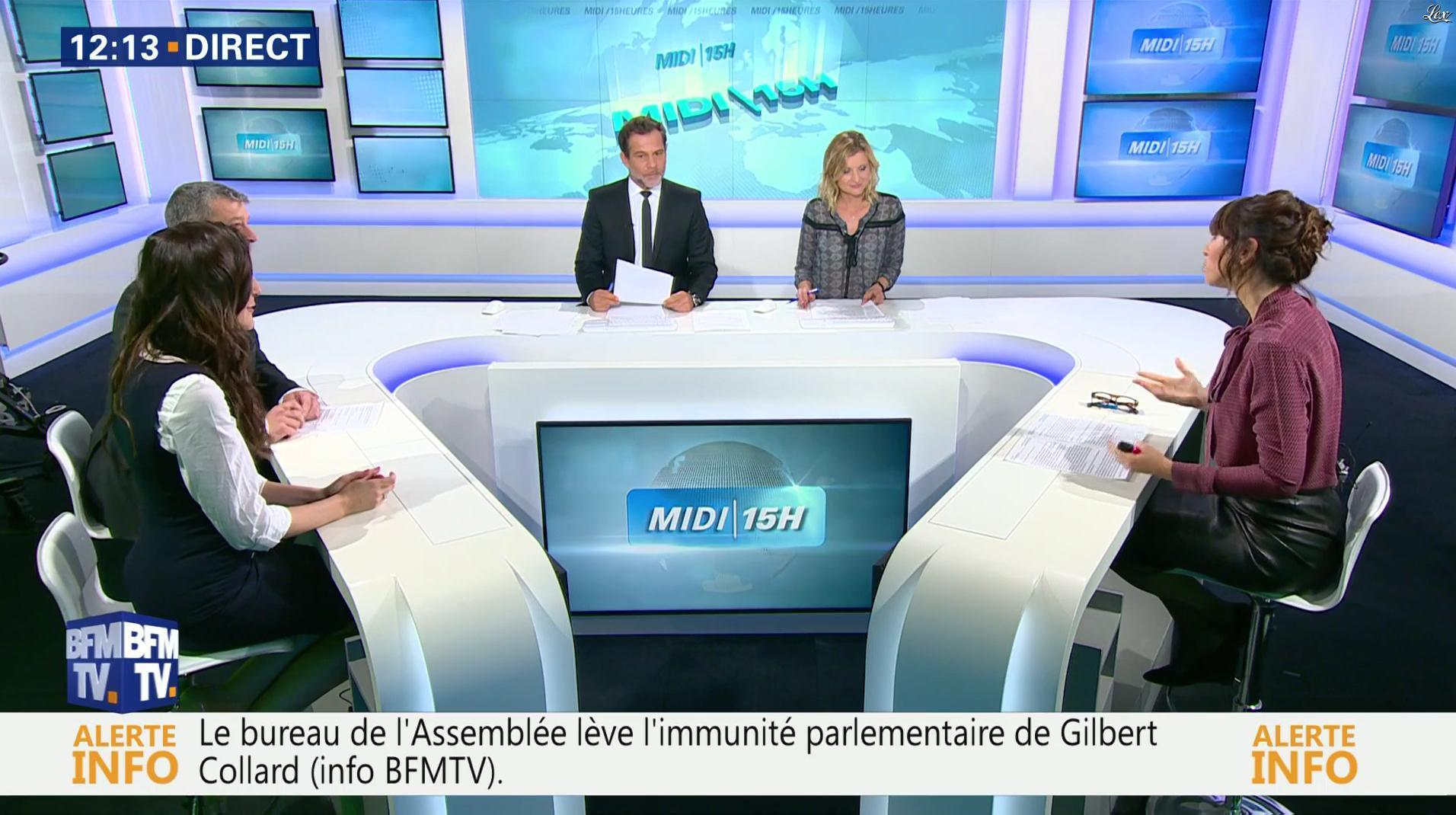 Candice Mahout dans le Midi-15h. Diffusé à la télévision le 27/09/17.