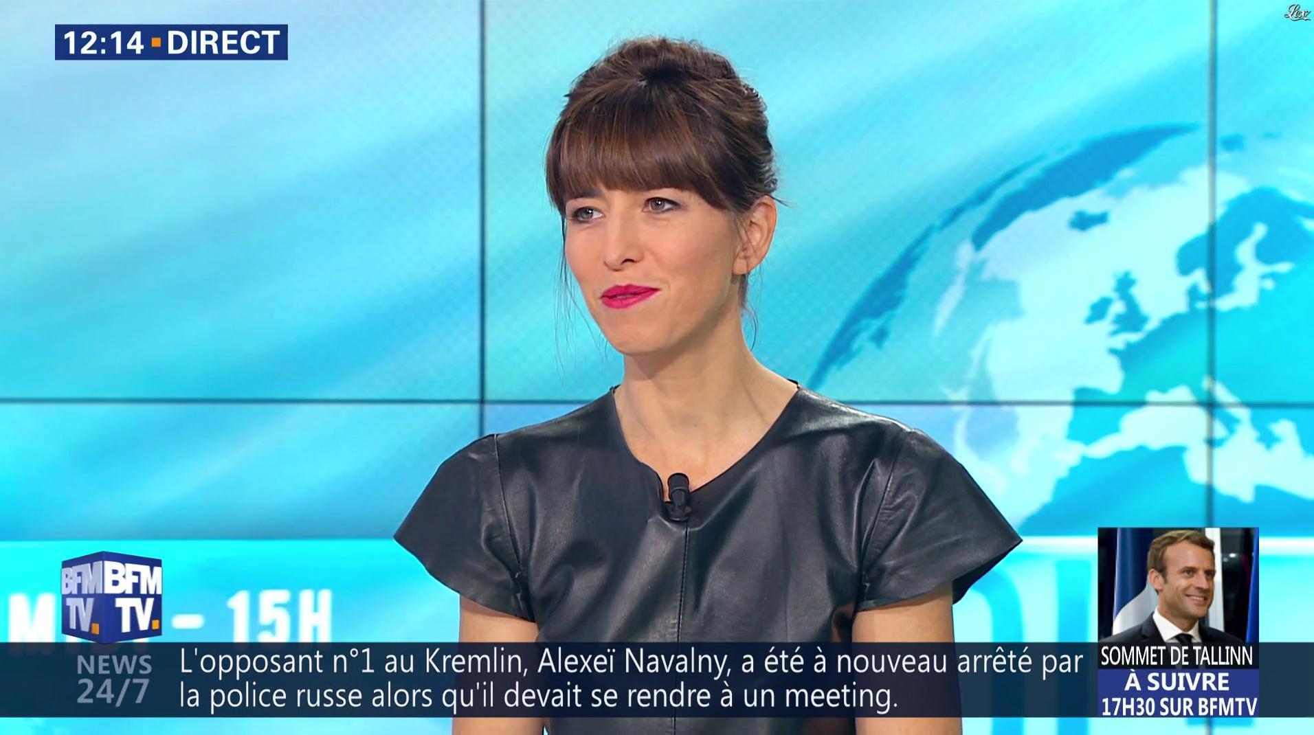 Candice Mahout dans le Midi-15h. Diffusé à la télévision le 29/09/17.