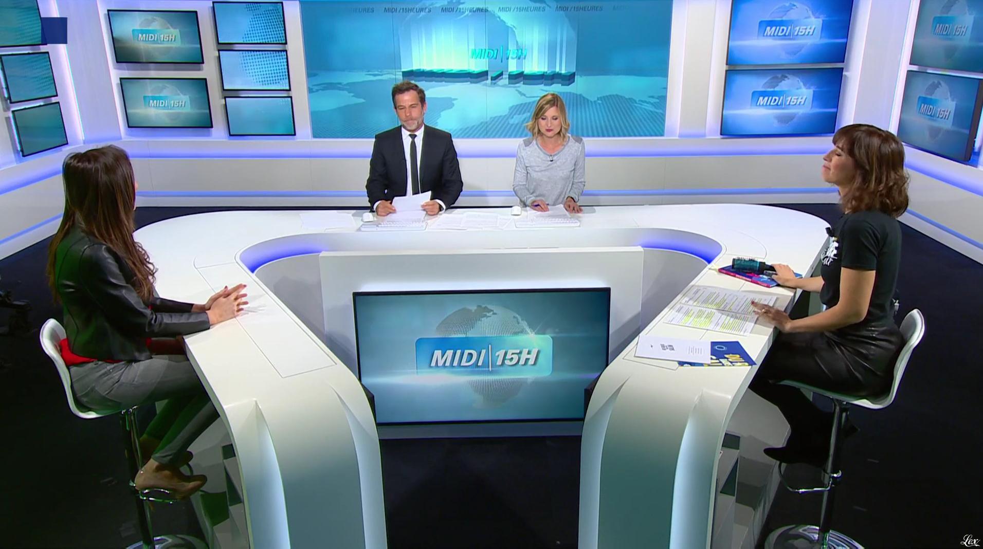 Candice Mahout dans le Midi-15h. Diffusé à la télévision le 30/10/17.
