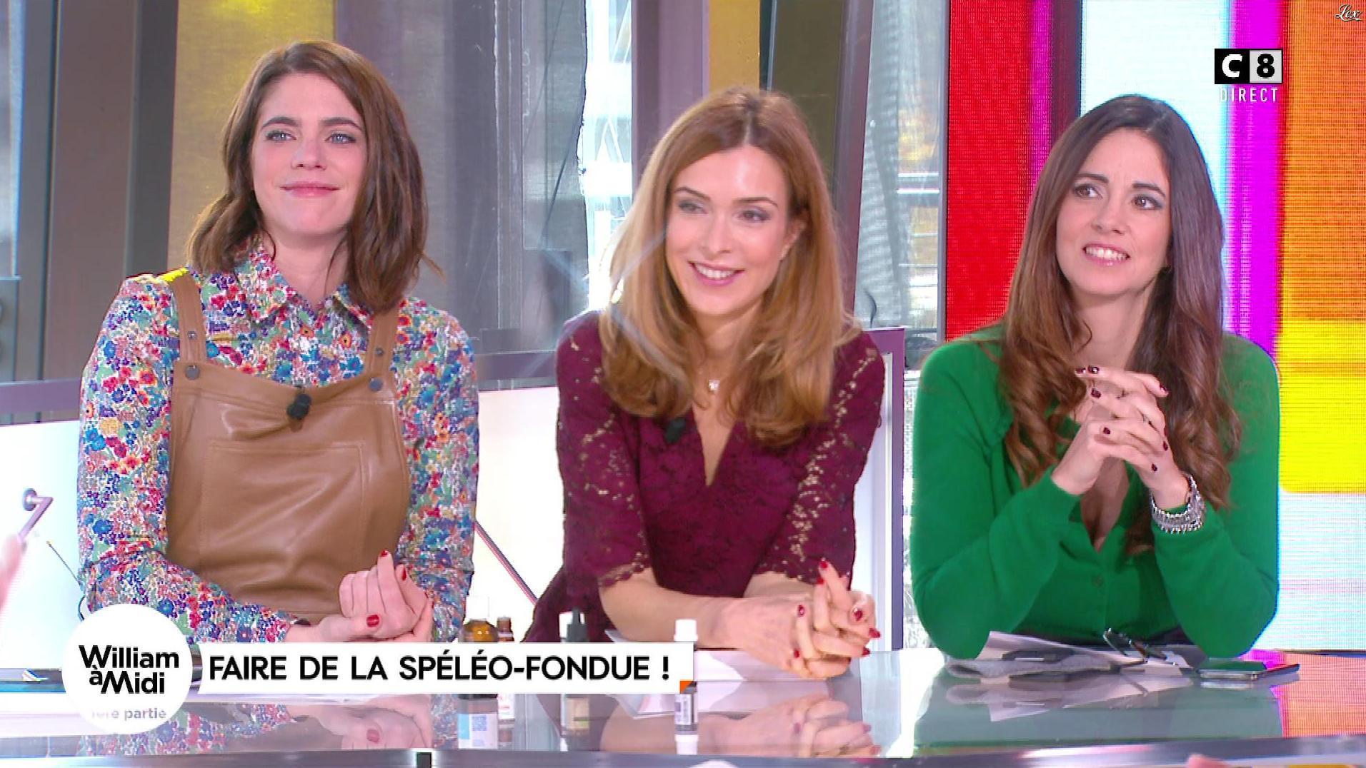 Caroline Munoz et Julia Molkhou dans William à Midi. Diffusé à la télévision le 23/11/17.