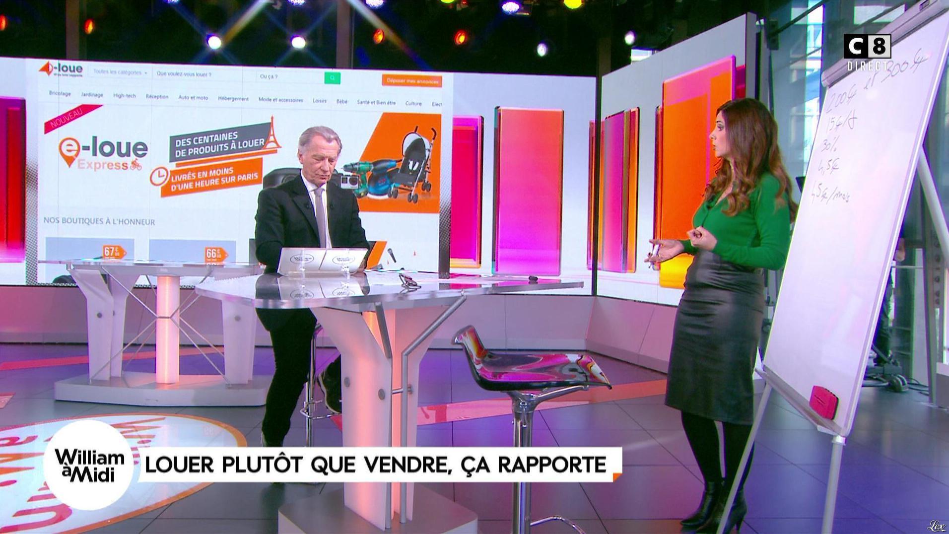 Caroline Munoz dans William à Midi. Diffusé à la télévision le 23/11/17.