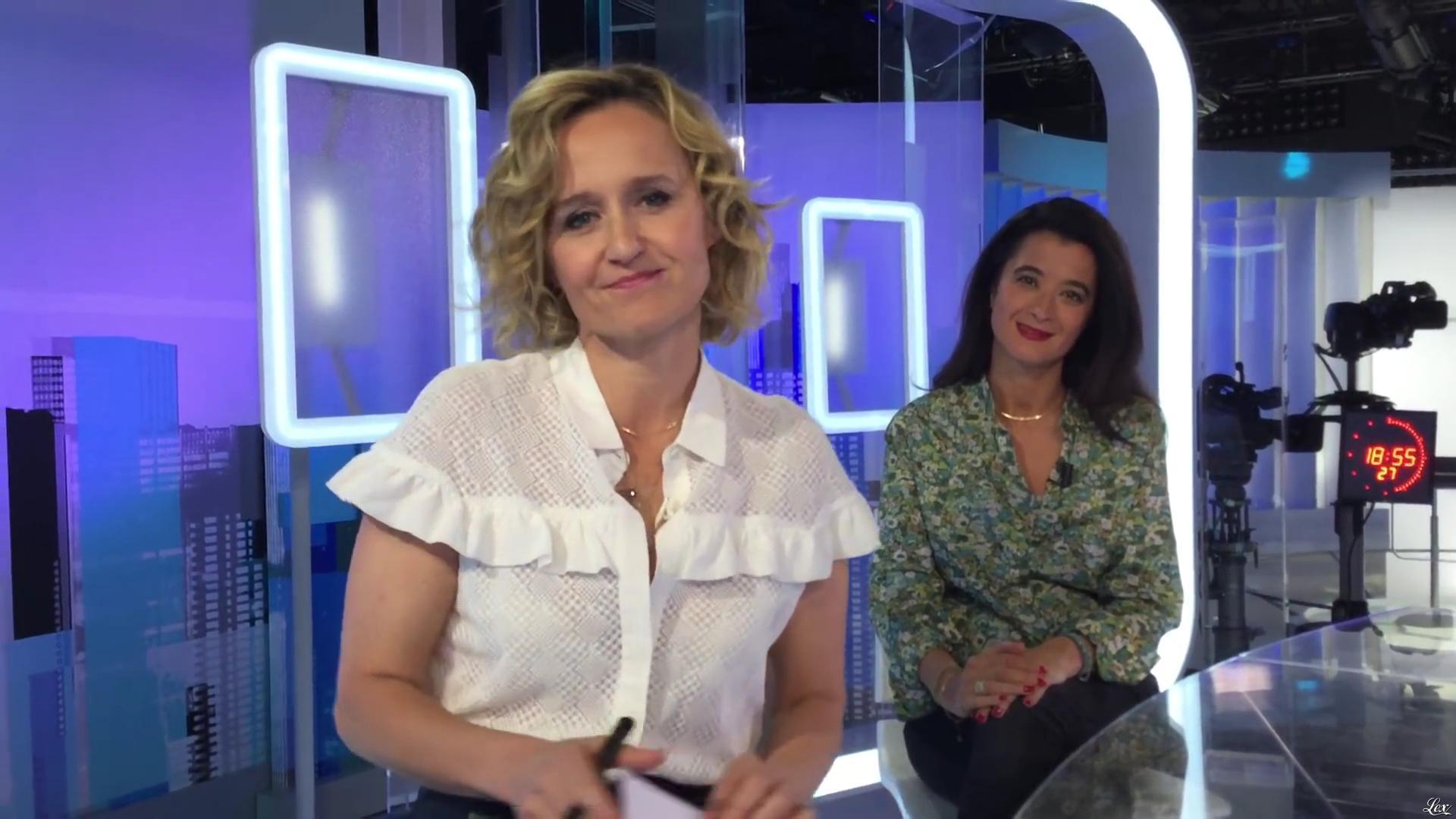 Caroline Roux dans un Bonus de C dans l'Air. Diffusé à la télévision le 25/04/17.