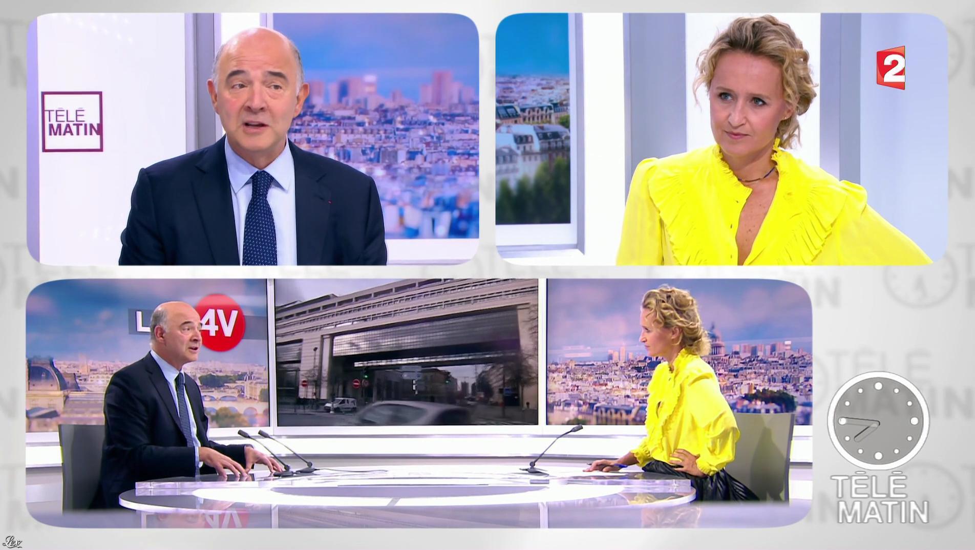 Caroline Roux dans les 4 Vérités. Diffusé à la télévision le 27/09/17.
