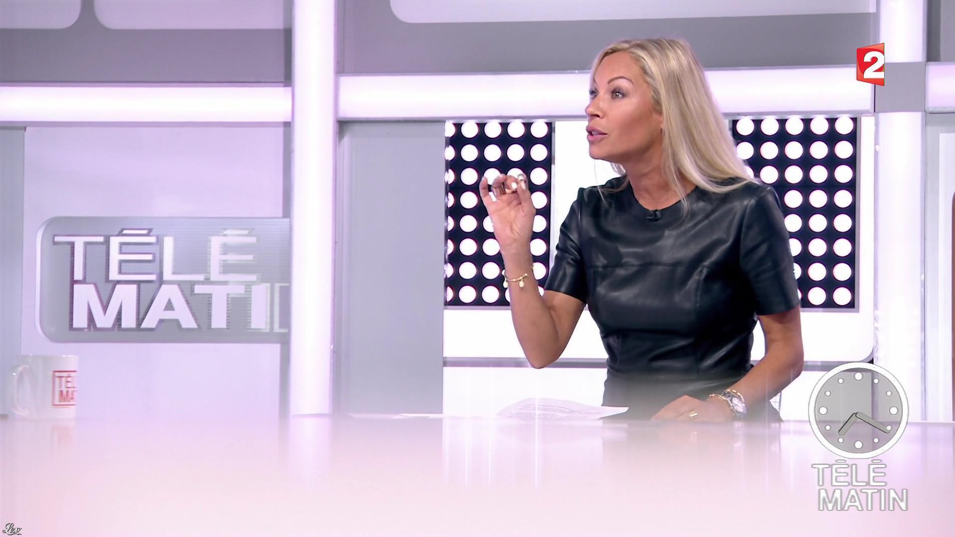 Charlotte Bouteloup dans Télématin. Diffusé à la télévision le 04/09/17.