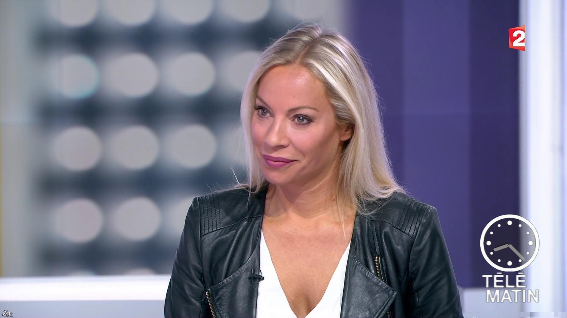 Charlotte Bouteloup dans Télématin. Diffusé à la télévision le 07/09/17.