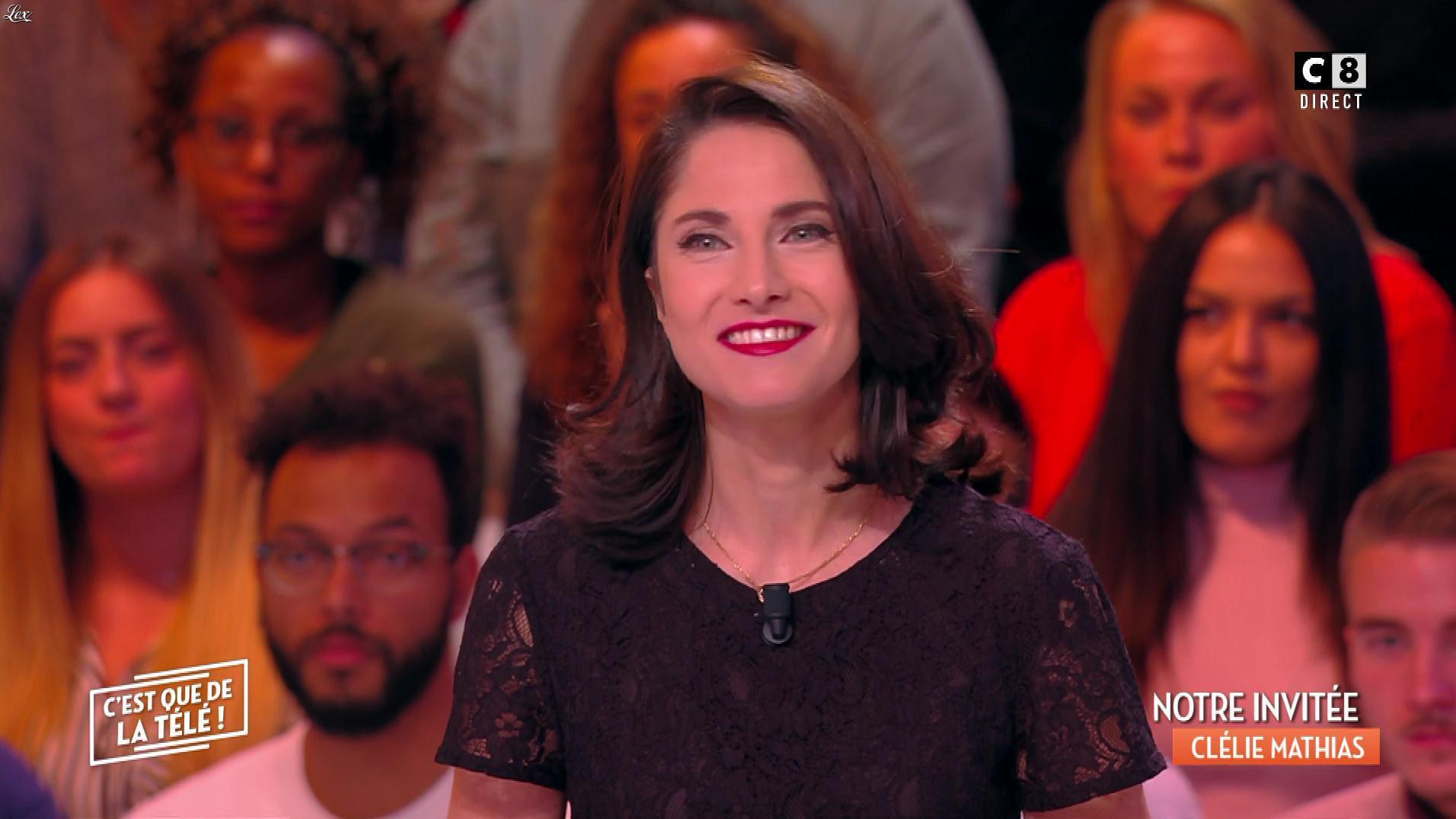 Clélie Mathias dans c'est Que de la Télé. Diffusé à la télévision le 20/11/17.