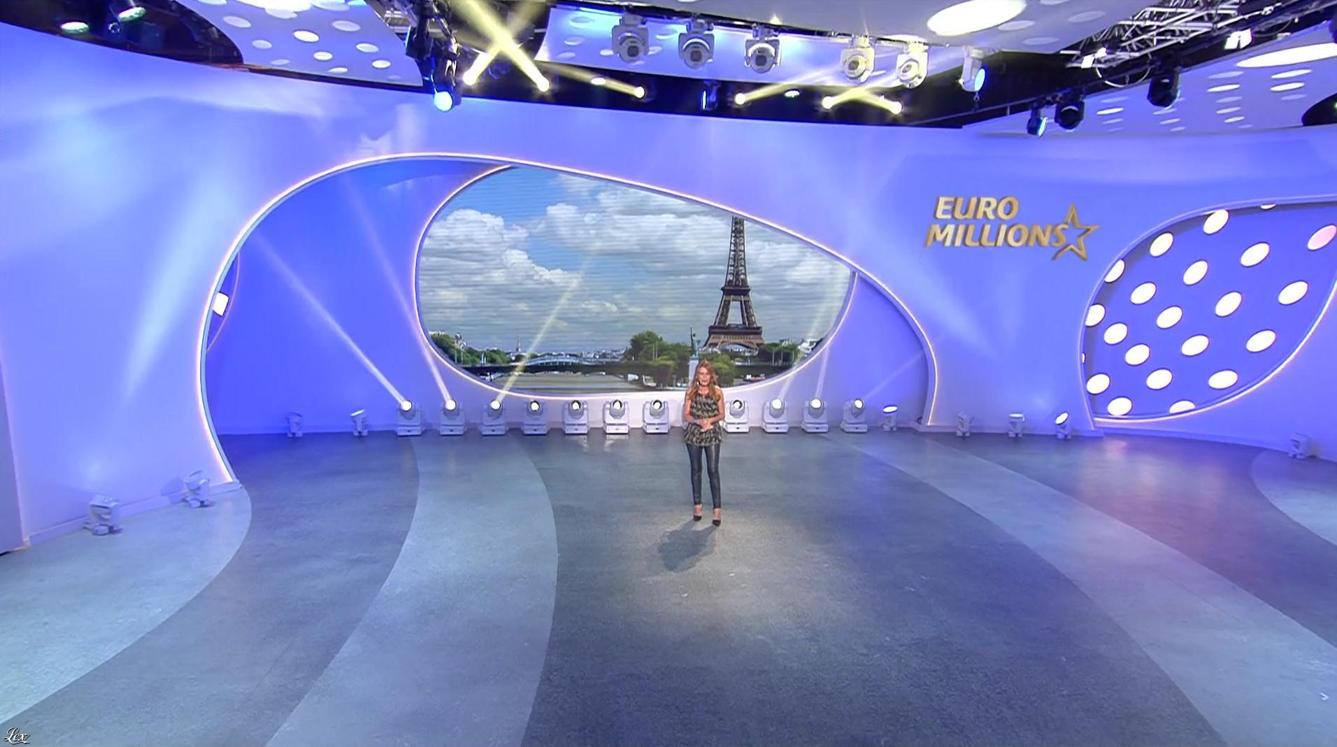 Elsa Fayer dans Euro Millions. Diffusé à la télévision le 11/08/17.