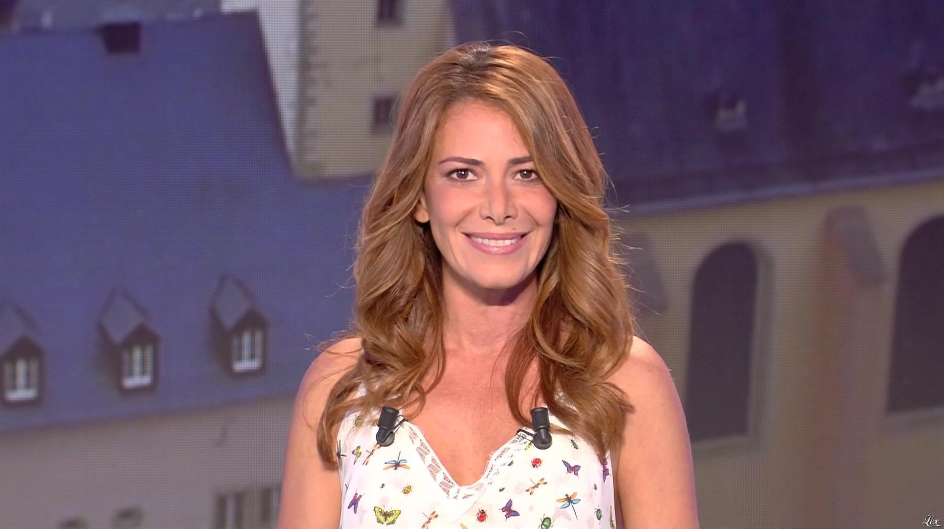 Elsa Fayer dans Euro Millions. Diffusé à la télévision le 18/08/17.