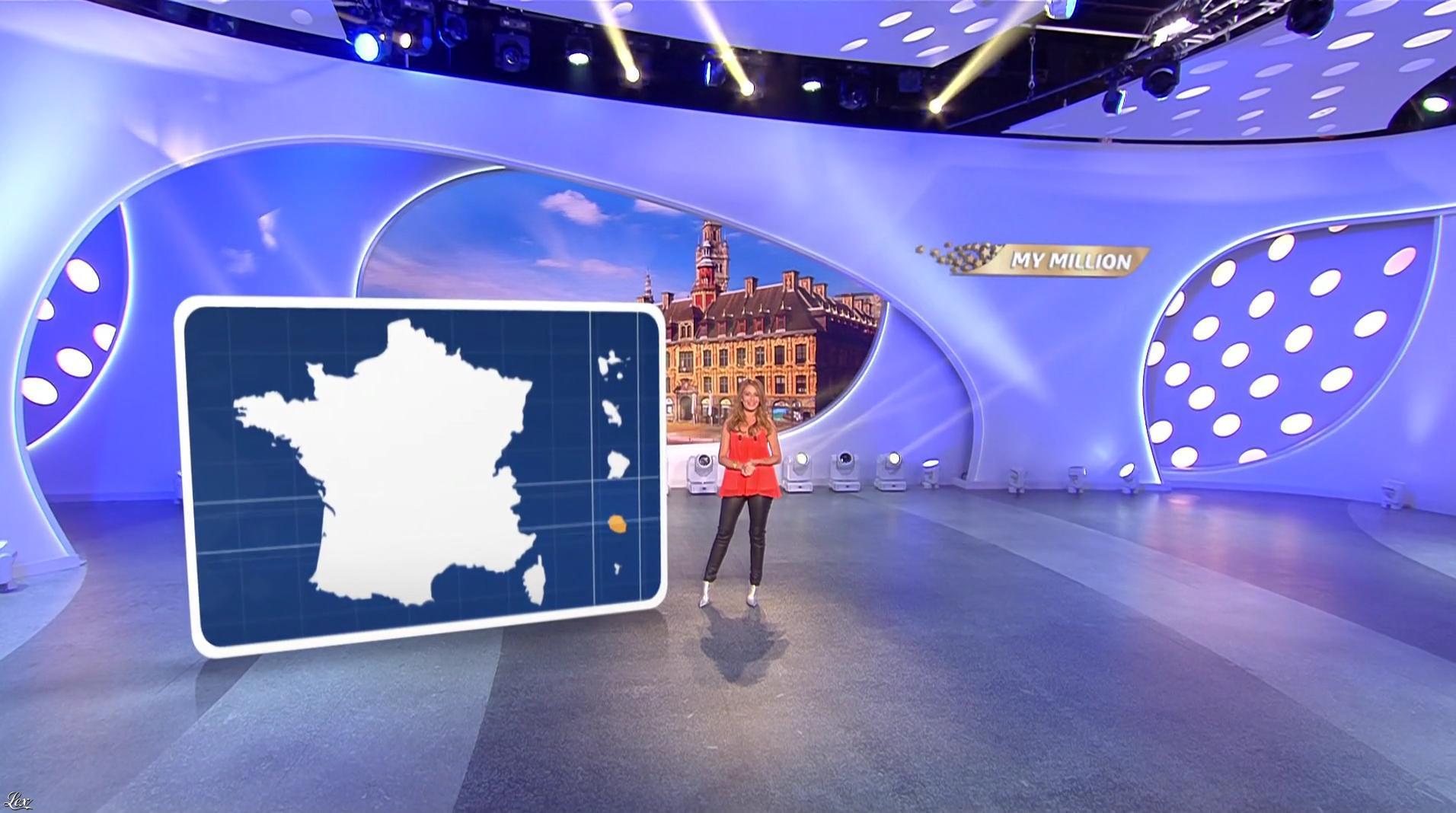 Elsa Fayer dans My Million. Diffusé à la télévision le 08/08/17.