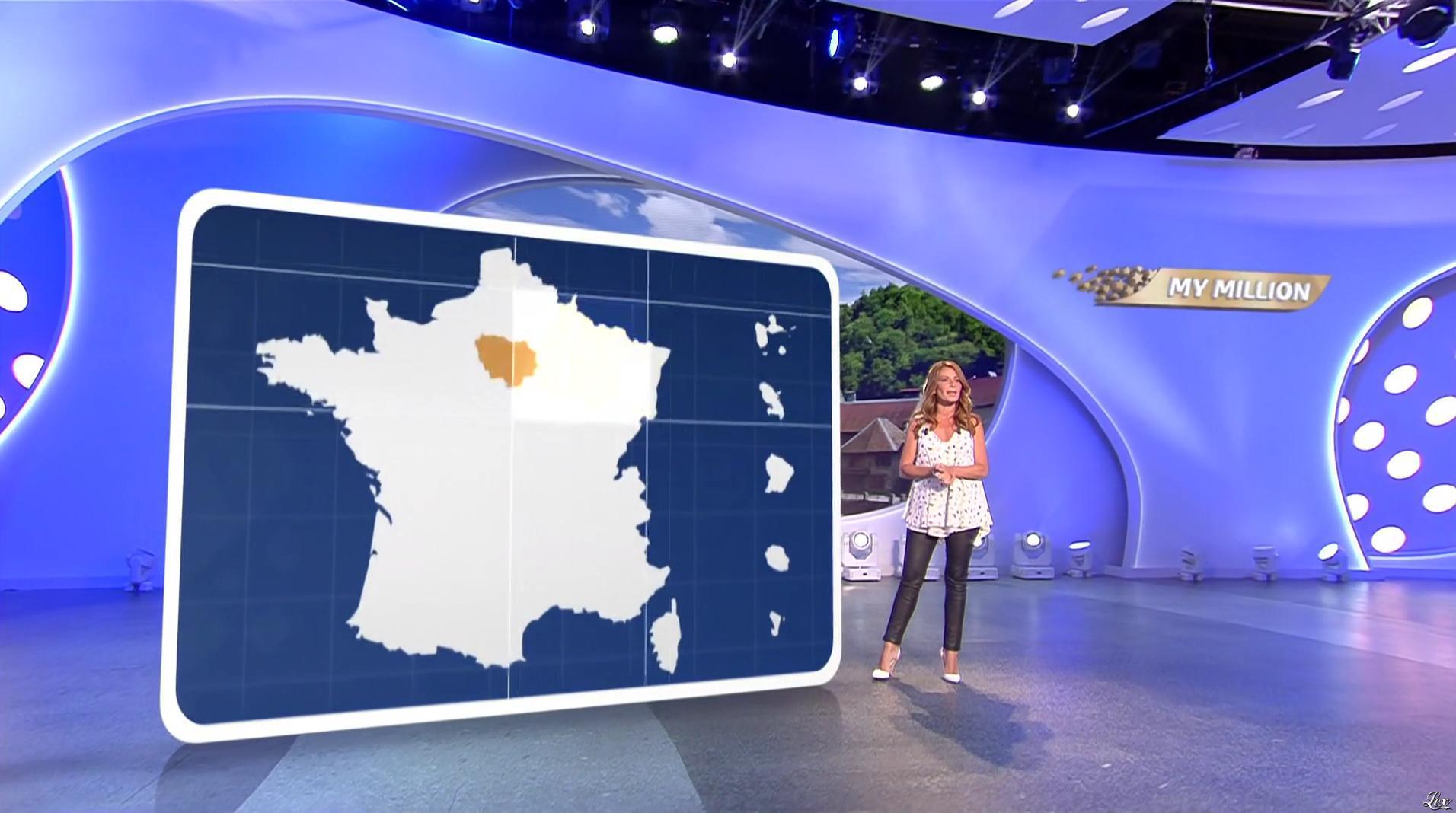 Elsa Fayer dans My Million. Diffusé à la télévision le 18/08/17.