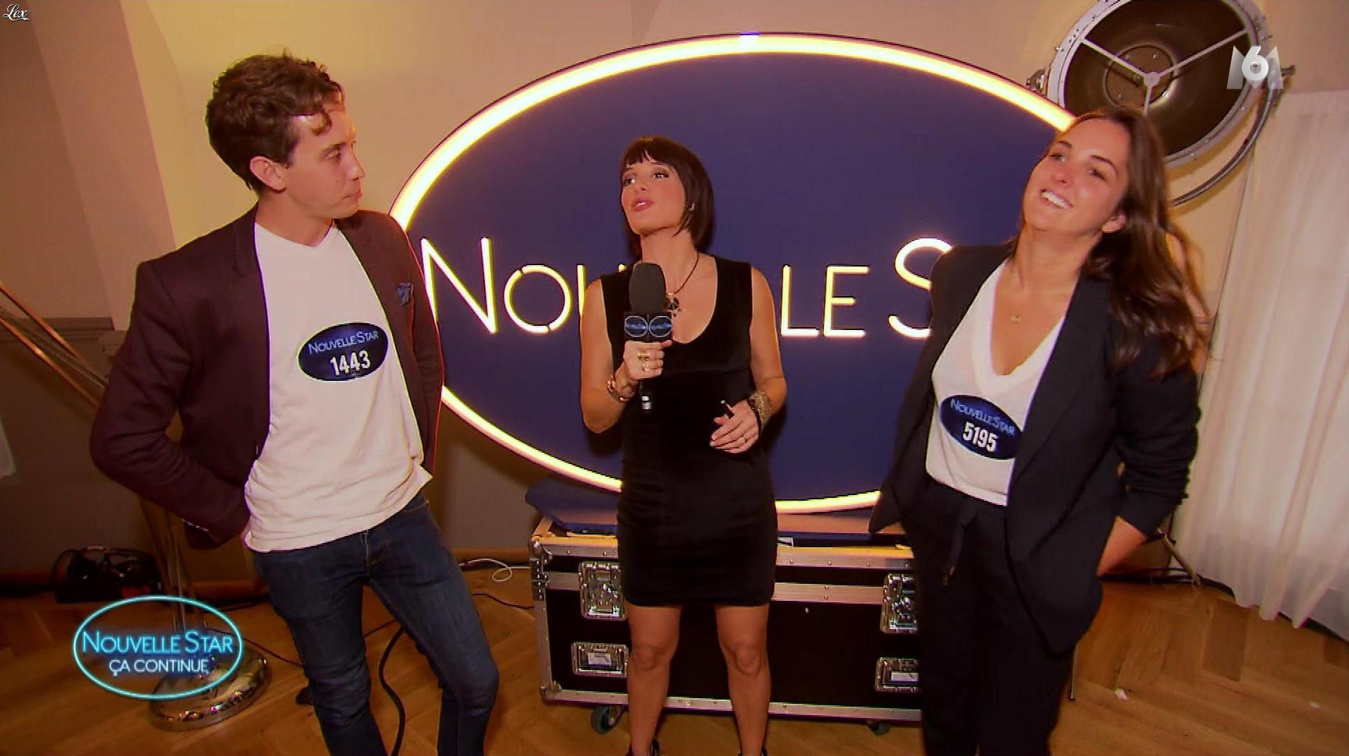 Erika Moulet dans Nouvelle Star Ca Continue. Diffusé à la télévision le 22/11/17.