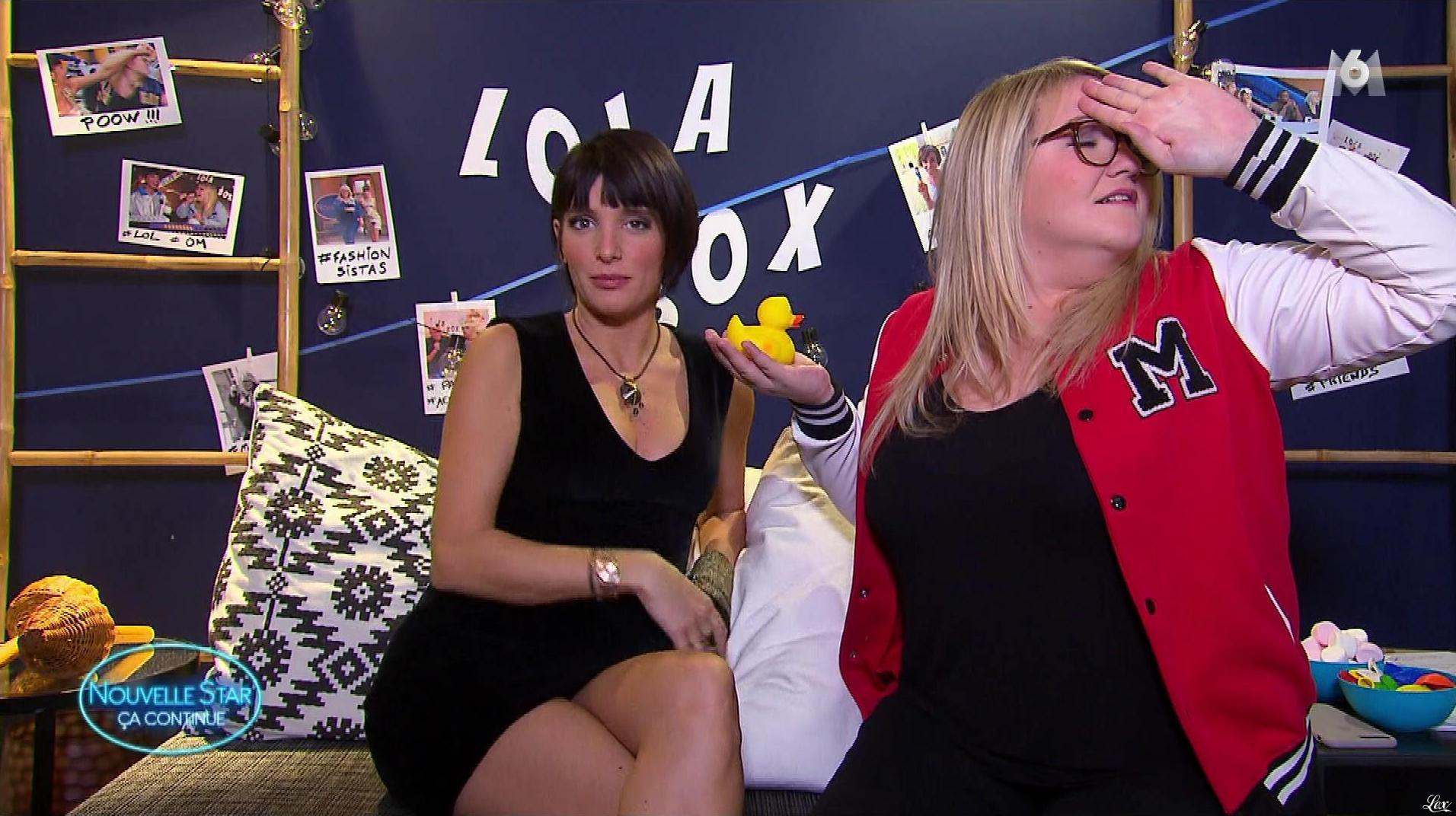 Erika Moulet dans Nouvelle Star Ça Continue. Diffusé à la télévision le 22/11/17.