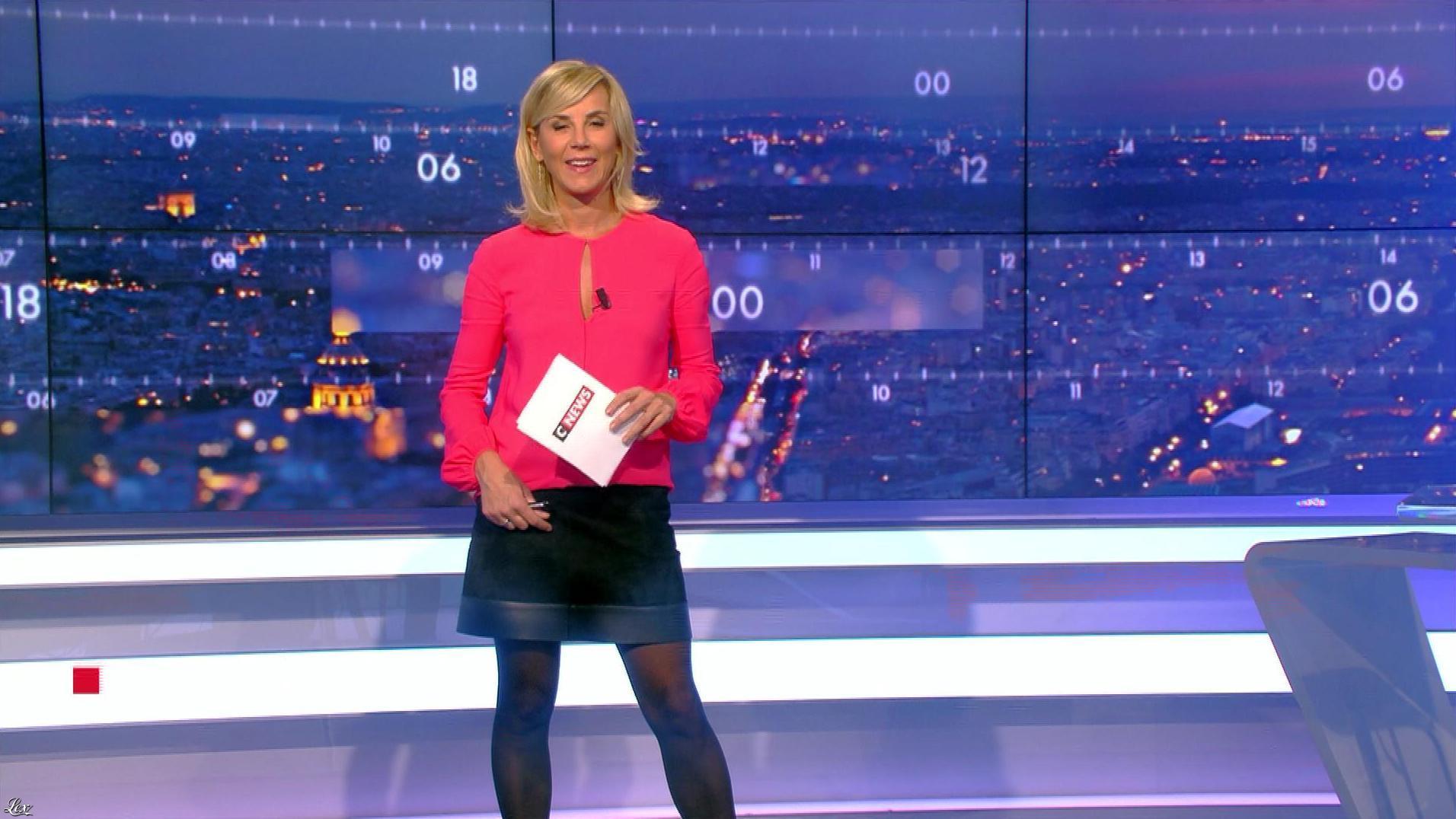 Laurence Ferrari dans Punchline. Diffusé à la télévision le 20/11/17.