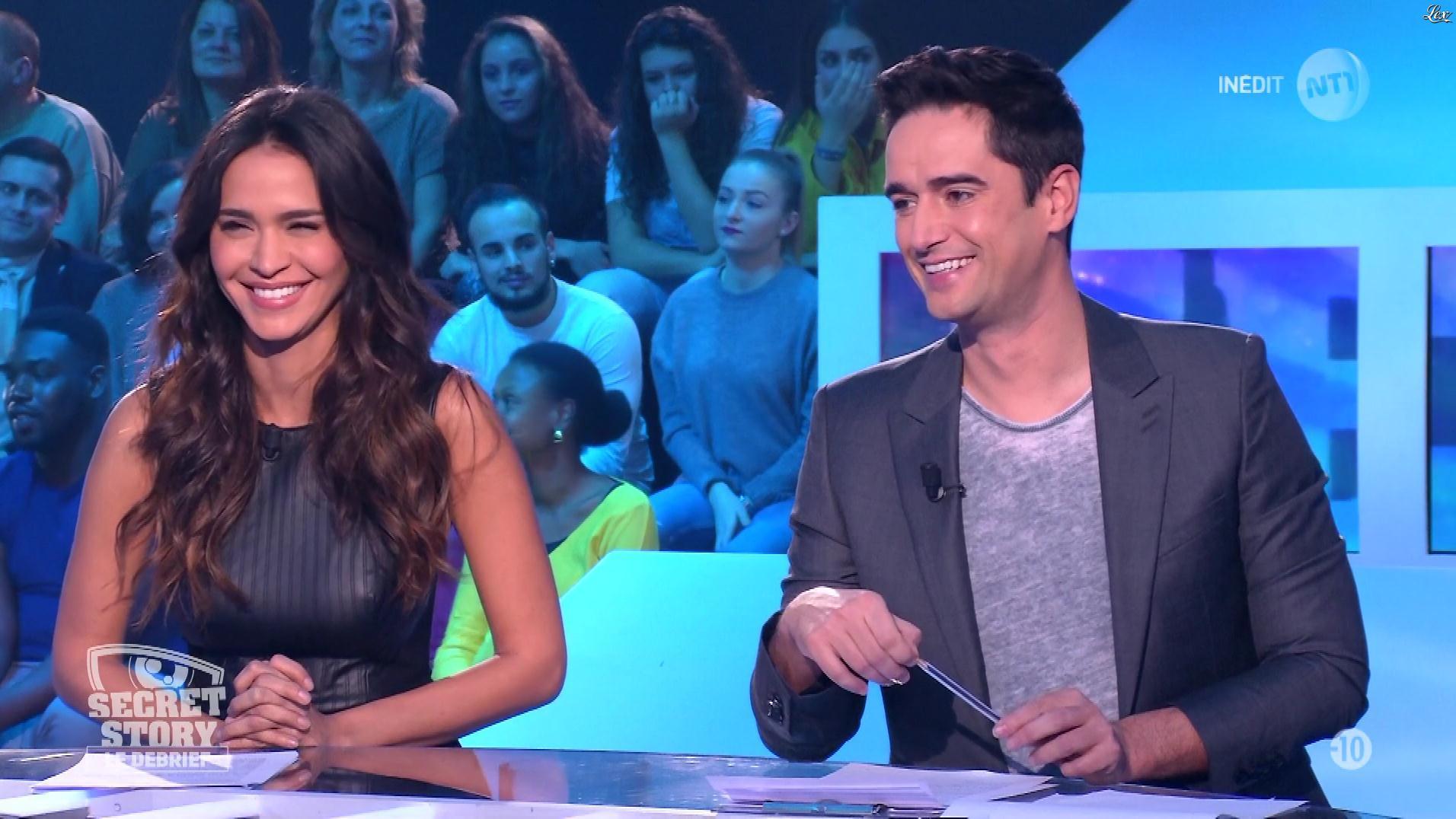 Leïla Ben Khalifa dans Secret Story le Debrief. Diffusé à la télévision le 20/11/17.