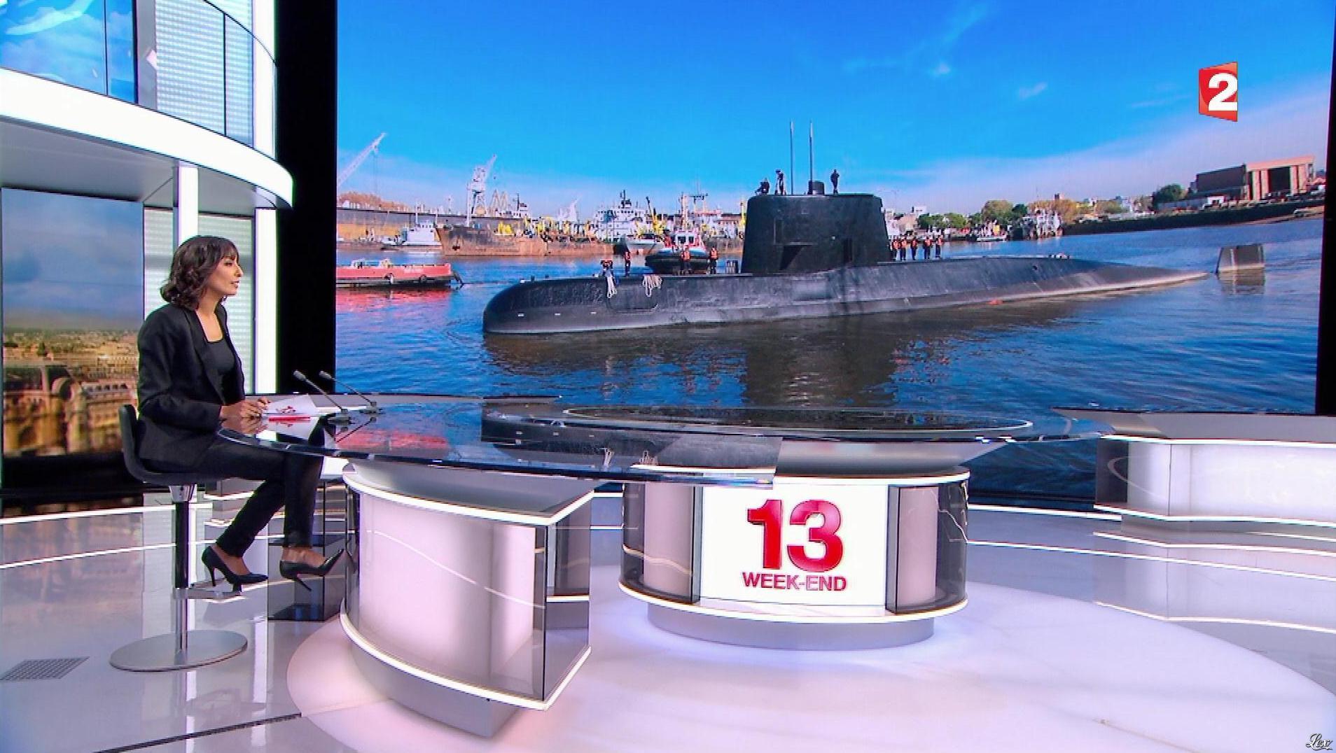 Leïla Kaddour dans 13h. Diffusé à la télévision le 19/11/17.