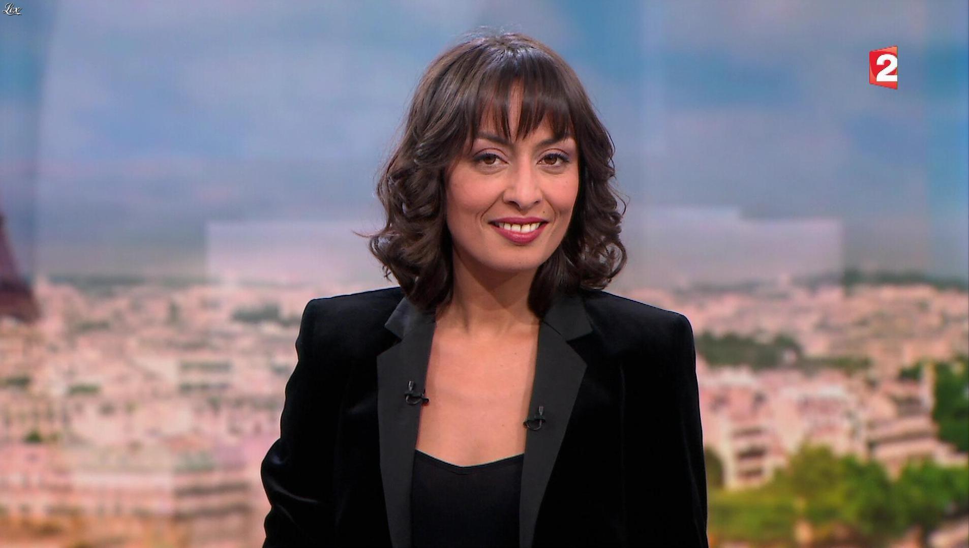 Leïla Kaddour dans 13h. Diffusé à la télévision le 26/11/17.