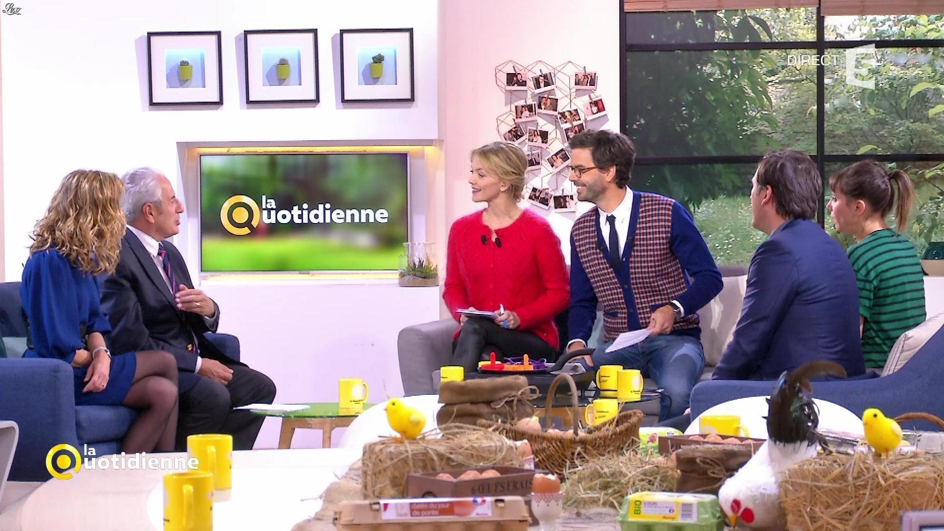 Maya Lauqué dans la Quotidienne. Diffusé à la télévision le 15/11/17.