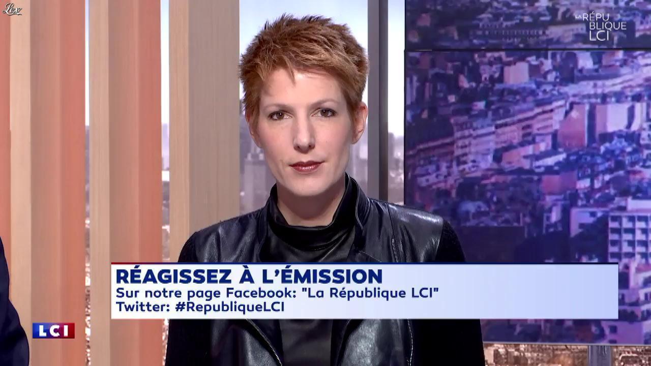 Natacha Polony dans la Republique LCI. Diffusé à la télévision le 02/11/17.