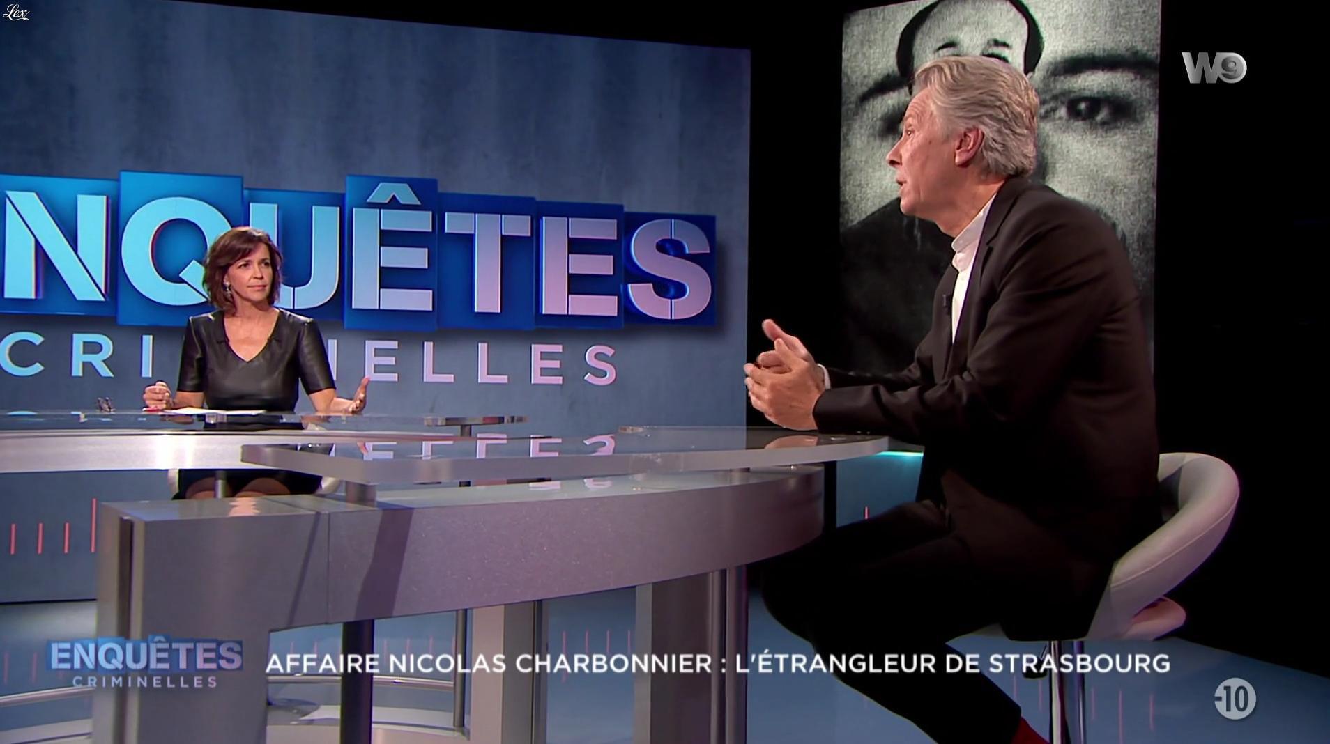 Nathalie Renoux dans Enquêtes Criminelles. Diffusé à la télévision le 04/10/17.
