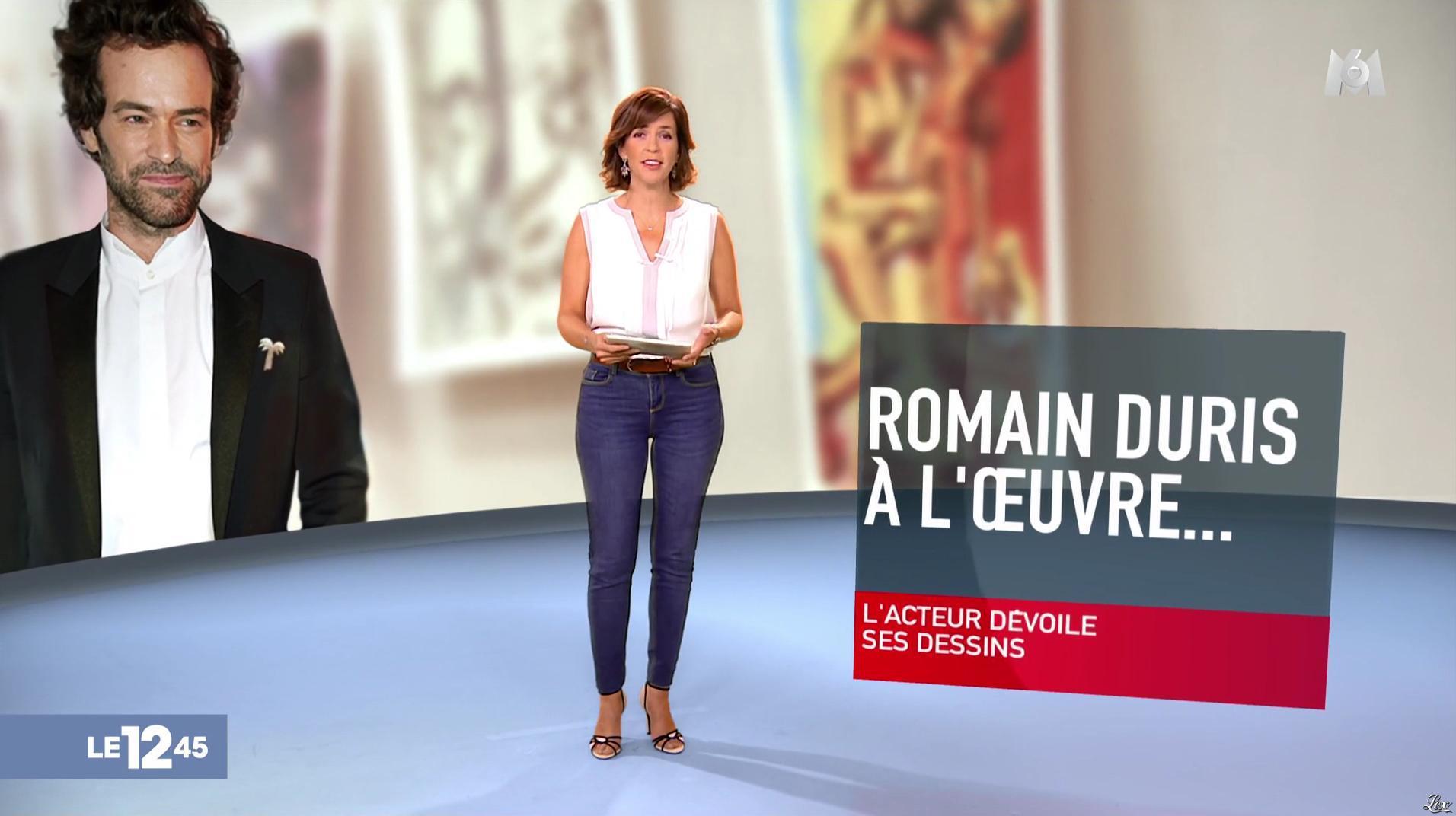 Nathalie Renoux dans le 12-45. Diffusé à la télévision le 17/09/17.